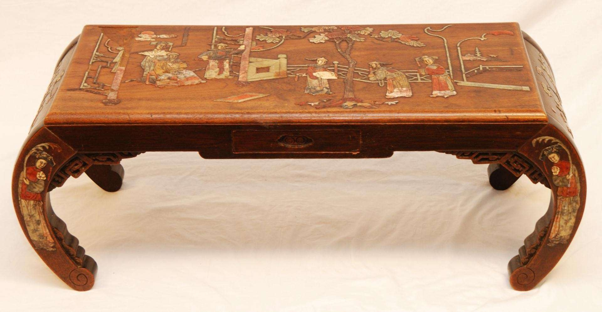 Newest Chinese Coffee Tables Within Antique Chinese Coffee Table (View 16 of 20)
