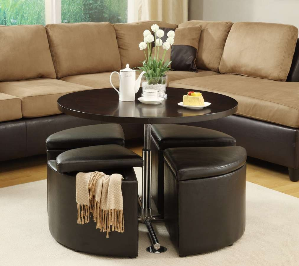 Newest Coffee Tables With Seating And Storage Inside Get A Compact And Multi Functional Living Room Spacedecorating (View 13 of 20)