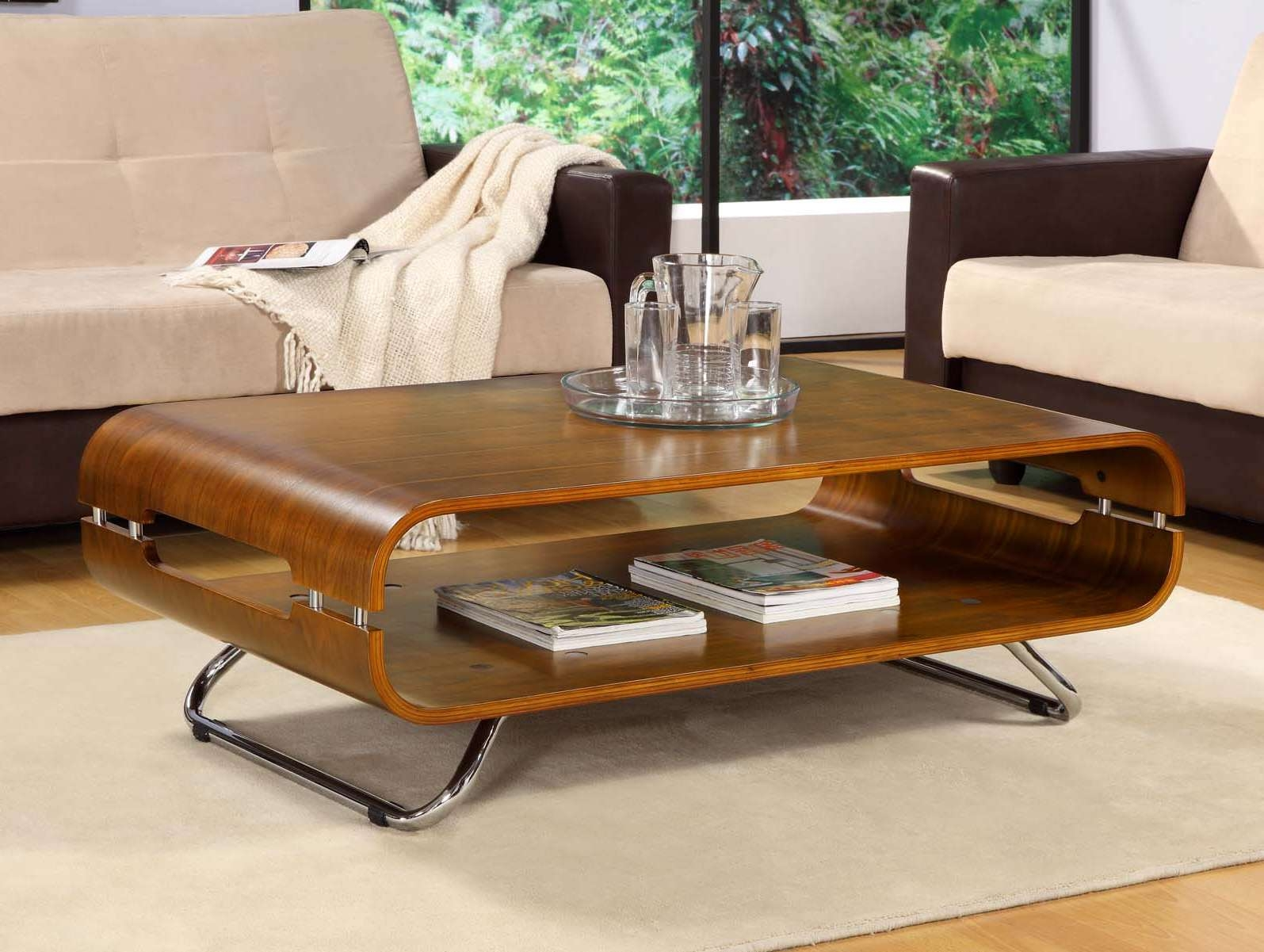 Newest Curve Coffee Tables With Jual Curve 2 Level Coffee Table – Home & Office Desks Uk & Ireland (Gallery 10 of 20)
