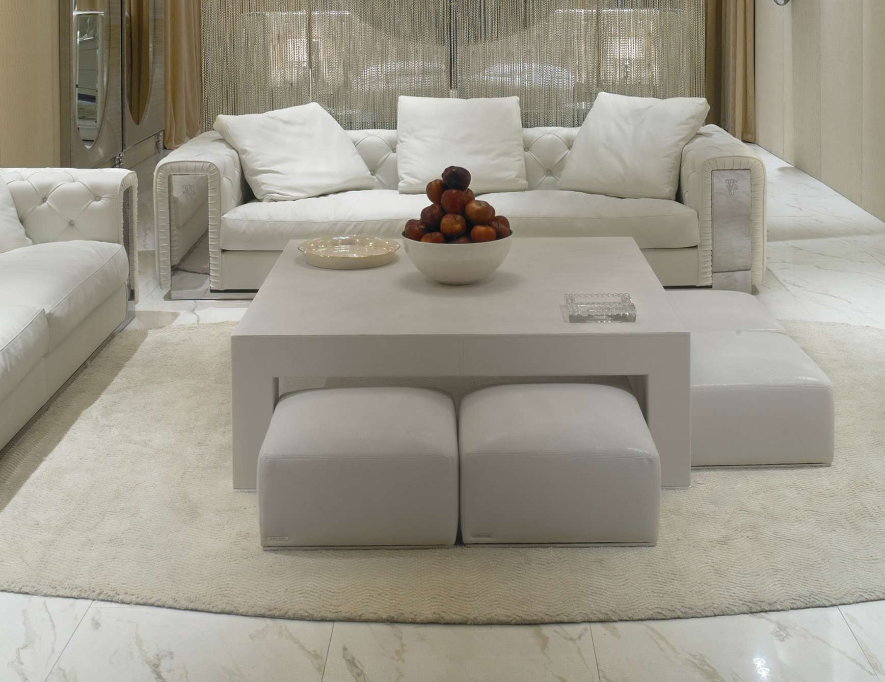 Newest Fabric Coffee Tables With Nella Vetrina Visionnaire Ipe Cavalli Hagen Italian Coffee Table (View 12 of 20)