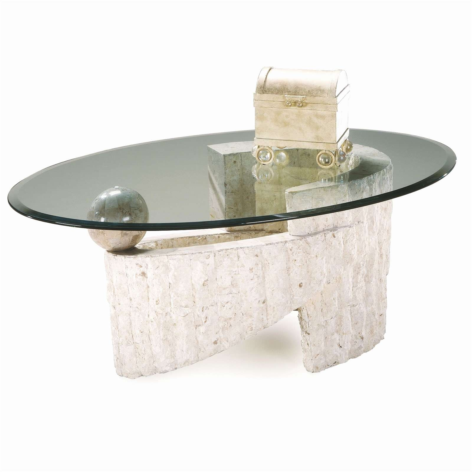 Newest Glass And Stone Coffee Table In Coffee Tables : Stone Coffee Table Gardens White With Glass Top (Gallery 16 of 20)