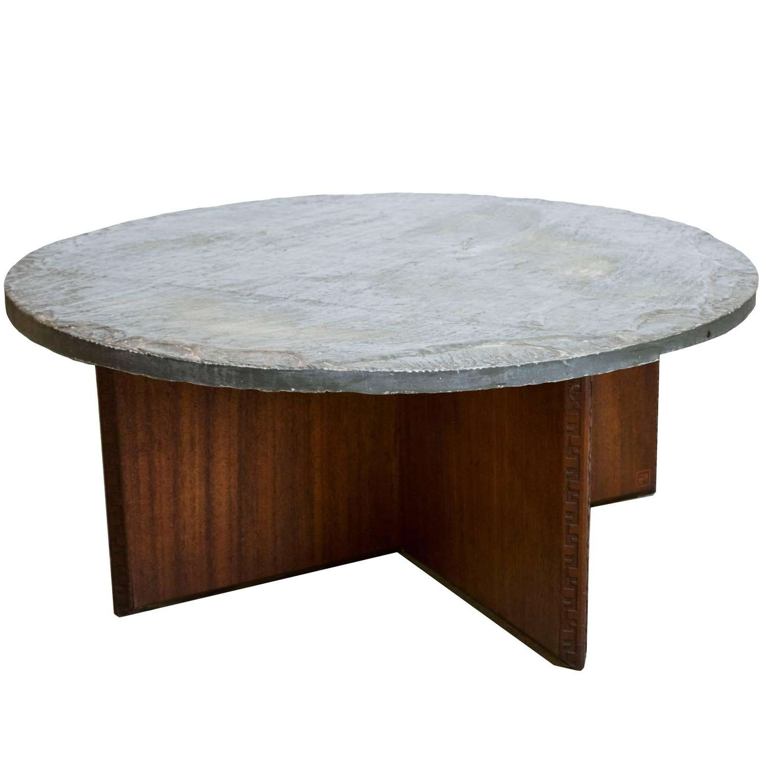 Newest Heritage Coffee Tables Throughout Frank Lloyd Wright For Henredon For Heritage Coffee Table With (View 7 of 20)