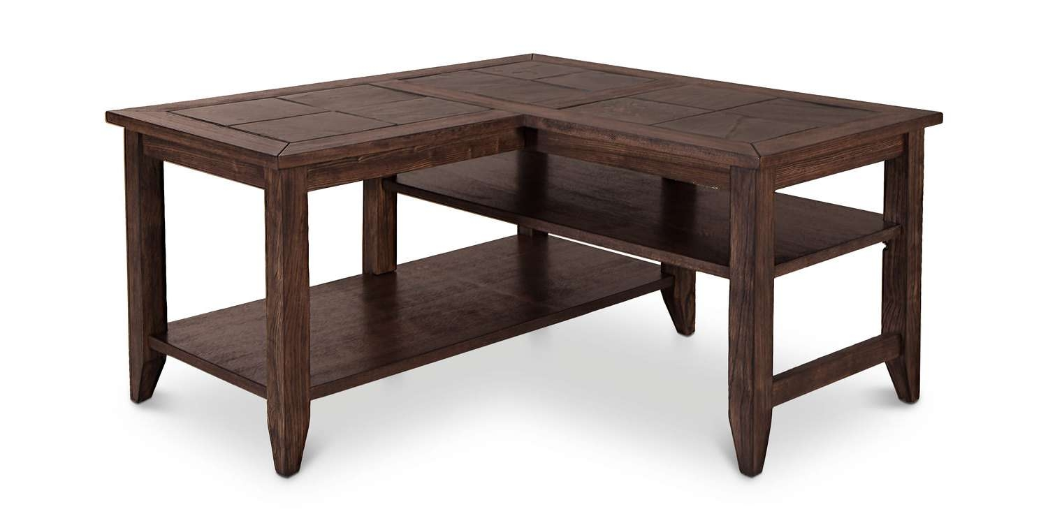 Newest L Shaped Coffee Tables Inside Coffee Table : Breathtaking L Shaped Coffee Table Images Ideas (View 2 of 20)