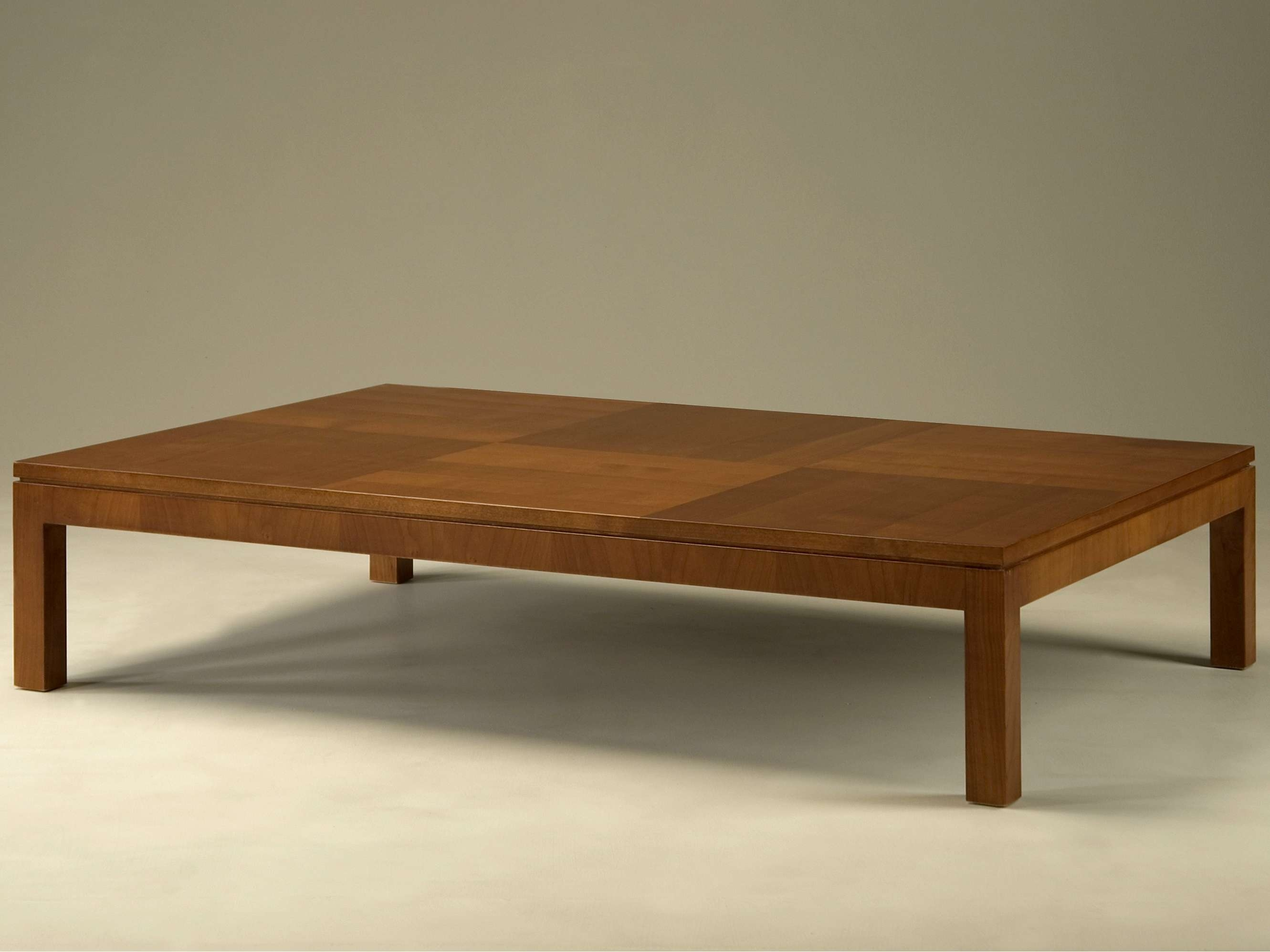 Newest Low Square Wooden Coffee Tables Regarding Coffee Table : Wonderful Square Coffee Table Large Square Coffee (View 3 of 20)