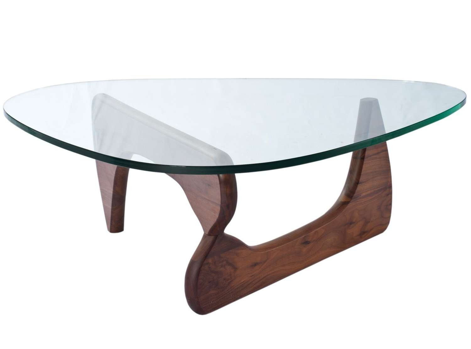 Newest Noguchi Coffee Tables Within Noguchi Coffee Table – 19mm Glass (platinum Replica) (View 4 of 20)