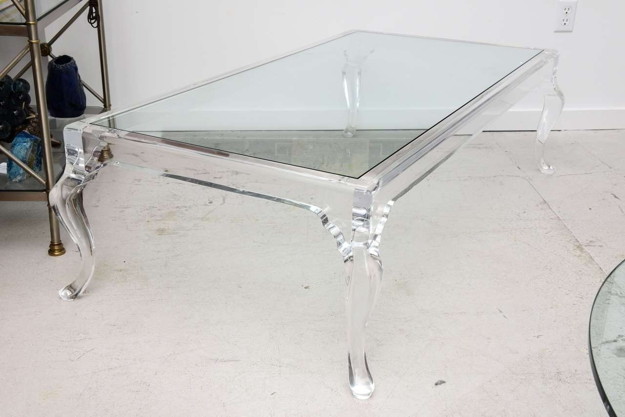Newest Perspex Coffee Table Regarding Nice Lucite Coffee Table In Our Favorite Decor — The Wooden Houses (View 17 of 20)