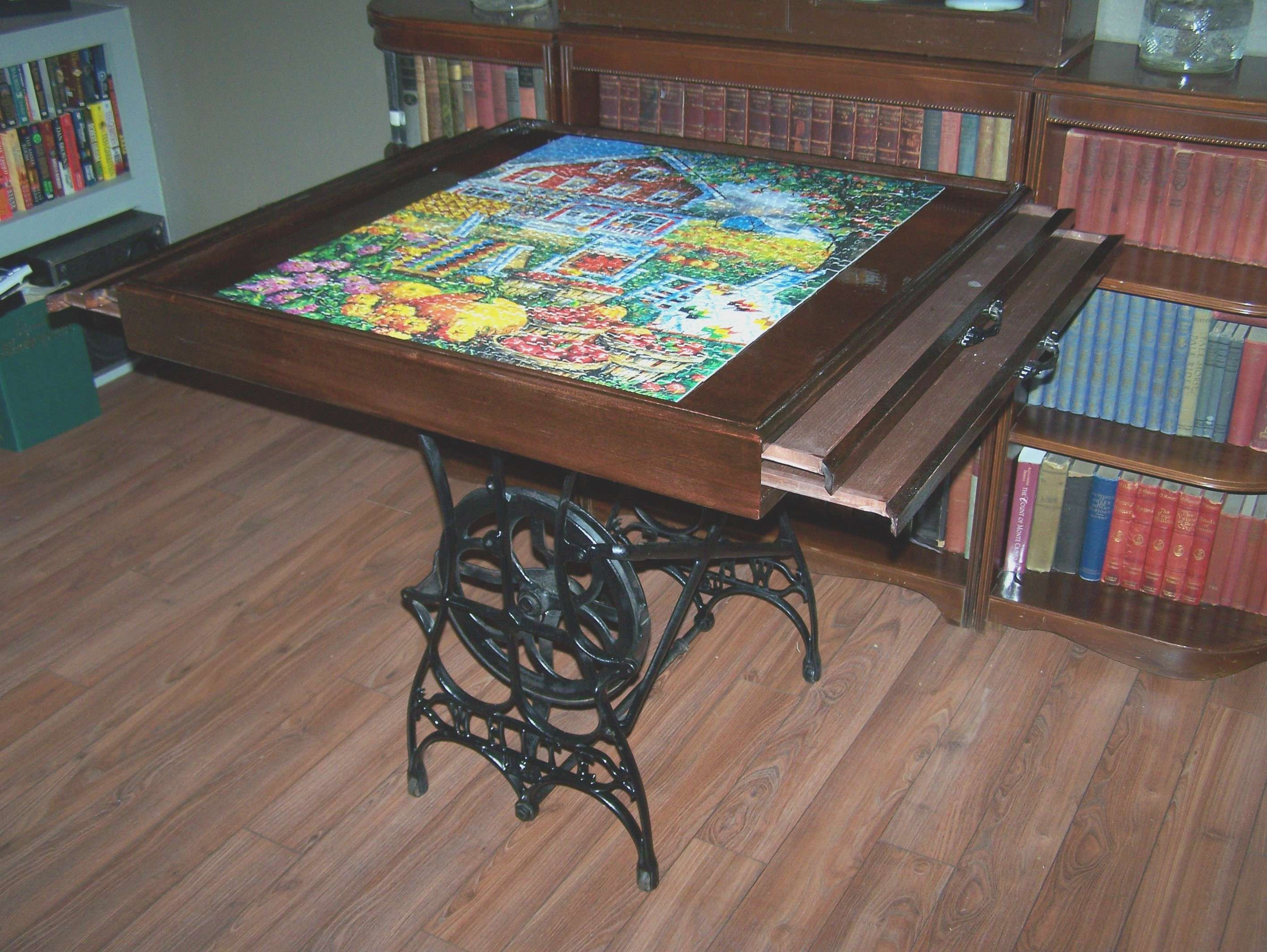 Newest Puzzle Coffee Tables In Coffee Table : Coffee Table Puzzles Rascalartsnyc Unbelievable (View 8 of 20)