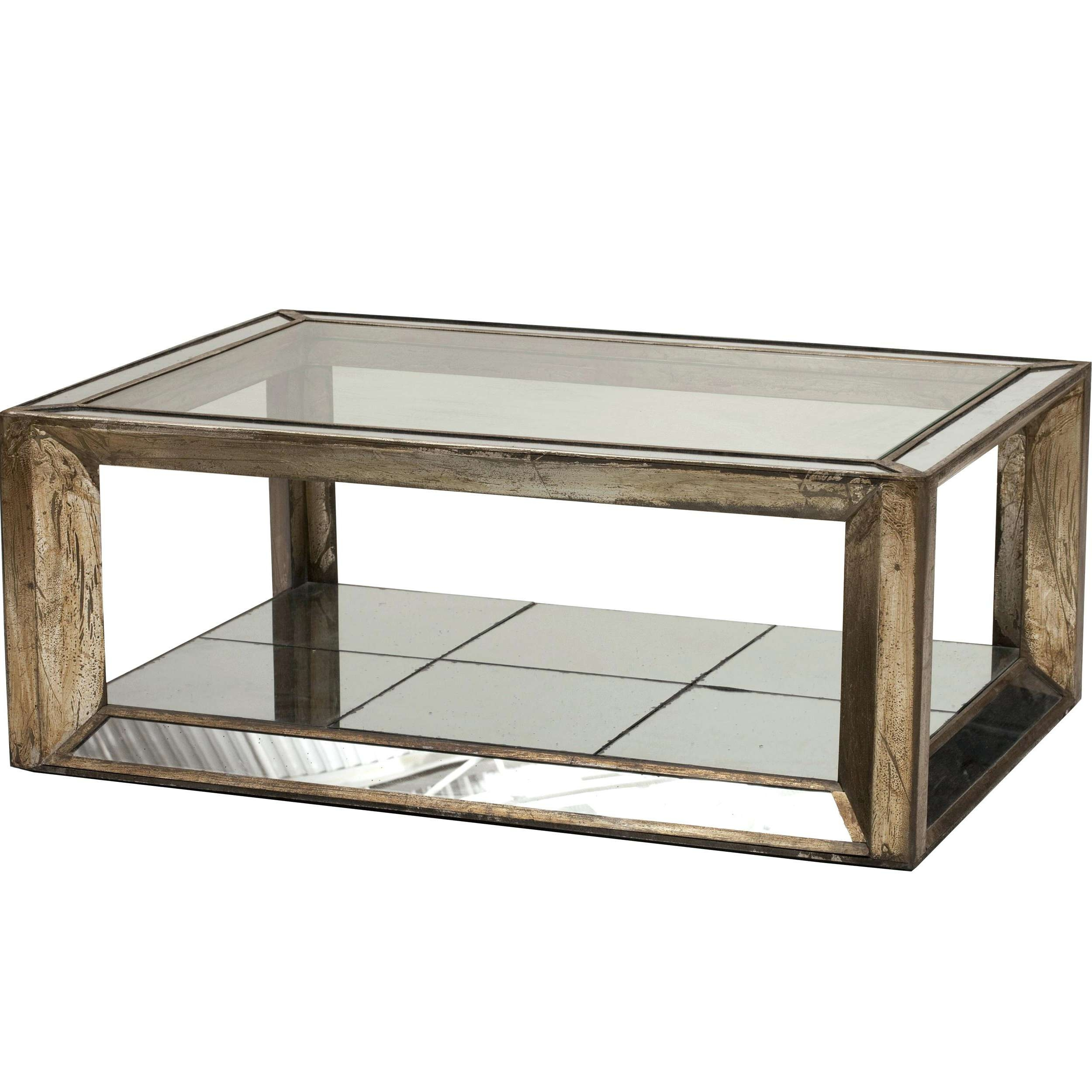 Newest Round Mirrored Coffee Tables Throughout Coffee Tables : Antique Mirrored Coffee Tables Awesome Round Table (Gallery 20 of 20)