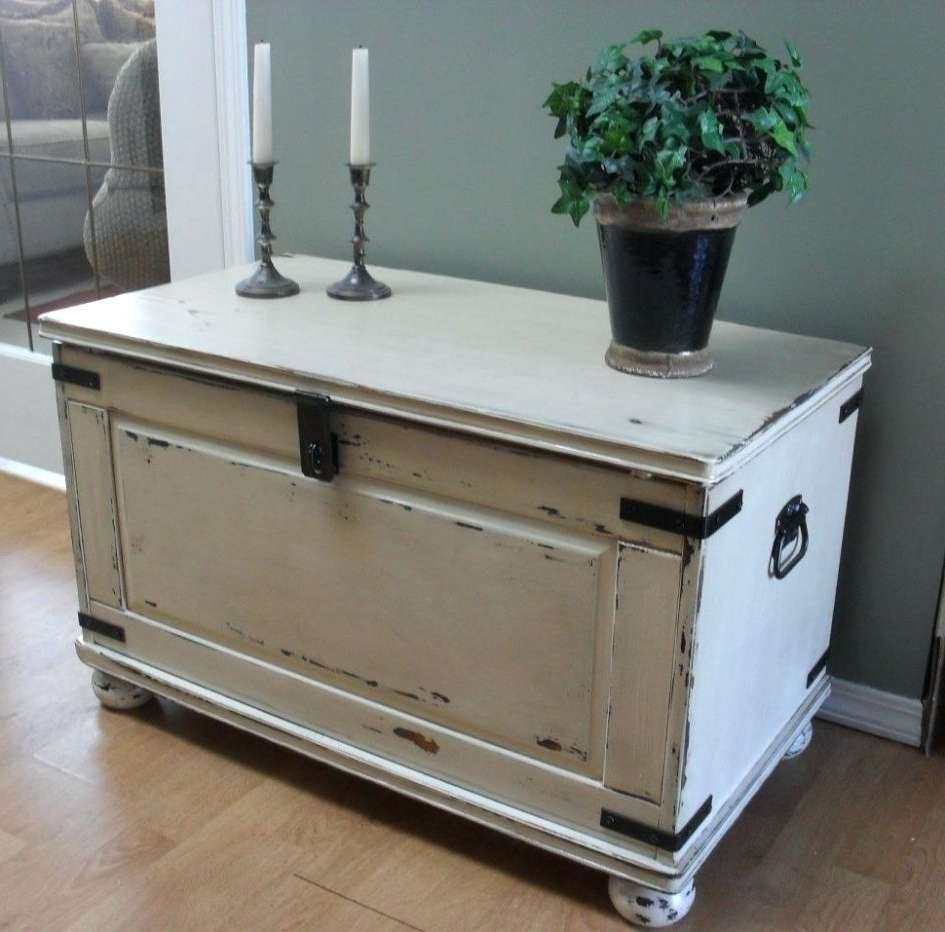 Newest Silver Trunk Coffee Tables With Chest Coffee Table For Home Design Wooden Rustic Silver Trunk And (View 14 of 20)