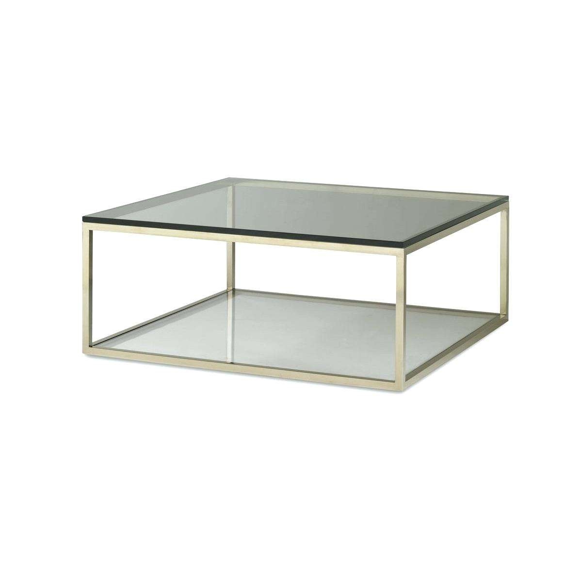 Newest Simple Glass Coffee Tables For Thewkndedit (View 15 of 20)
