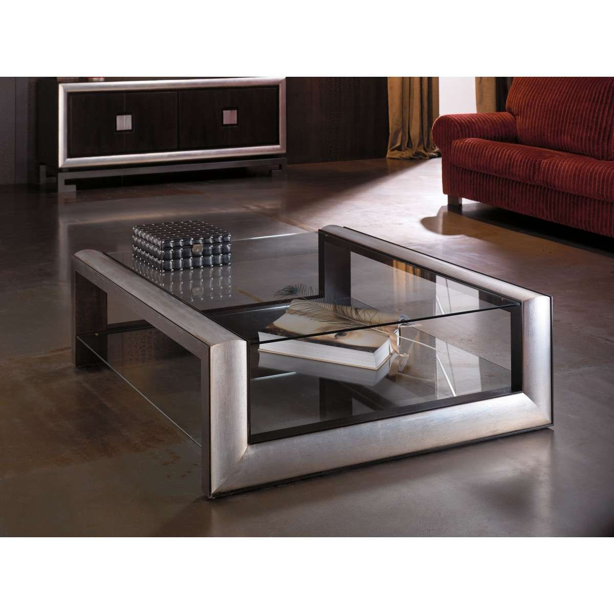 Newest Square Glass Coffee Tables Pertaining To Coffee Table: Awesome Square Glass Coffee Tables 42 Square Glass (View 14 of 20)