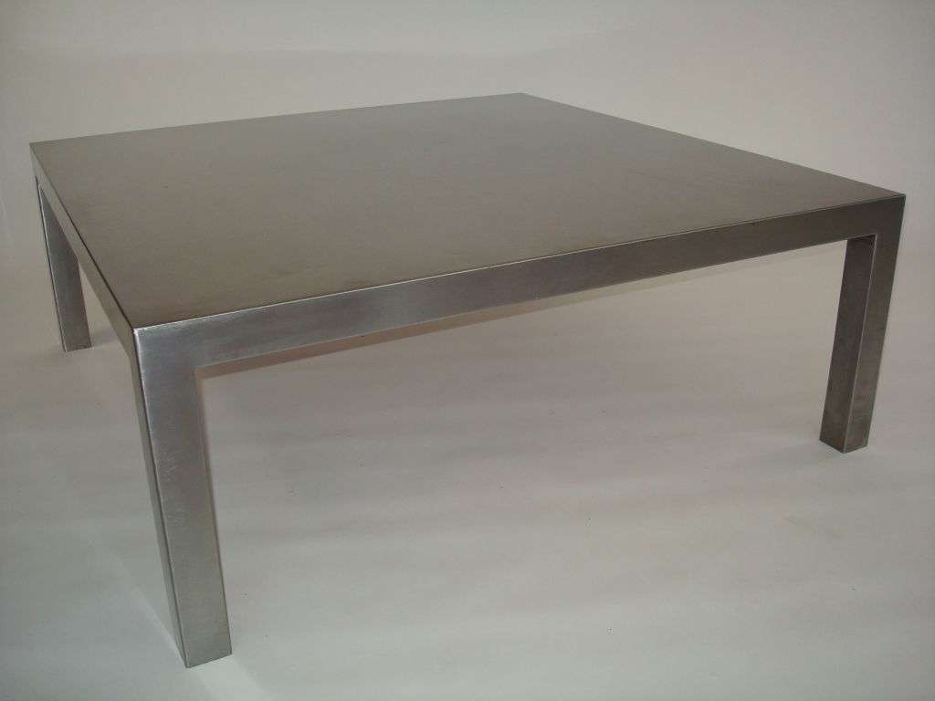 Newest Stainless Steel Trunk Coffee Tables For Coffee Tables Ideas: Top Stainless Coffee Table Legs Stainless (View 12 of 20)