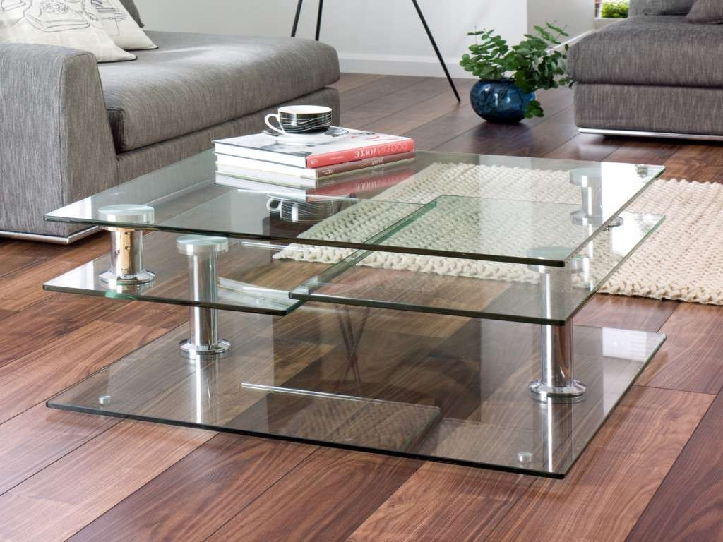 Newest Transparent Glass Coffee Tables Inside Furniture: Glass Coffee Table Luxury 30 Glass Coffee Tables That (View 17 of 20)