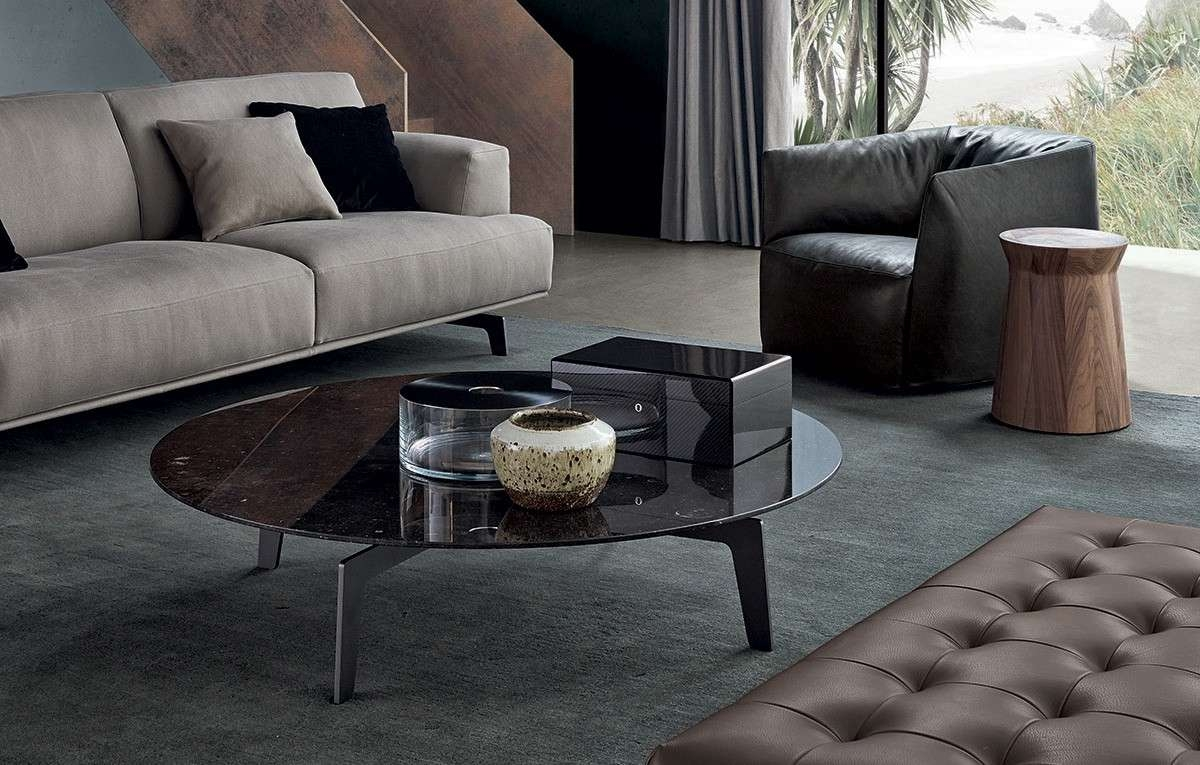 Newest Tribeca Coffee Tables Pertaining To Tribeca Round Coffee Tablepoliform, Designjean Marie (Gallery 18 of 20)