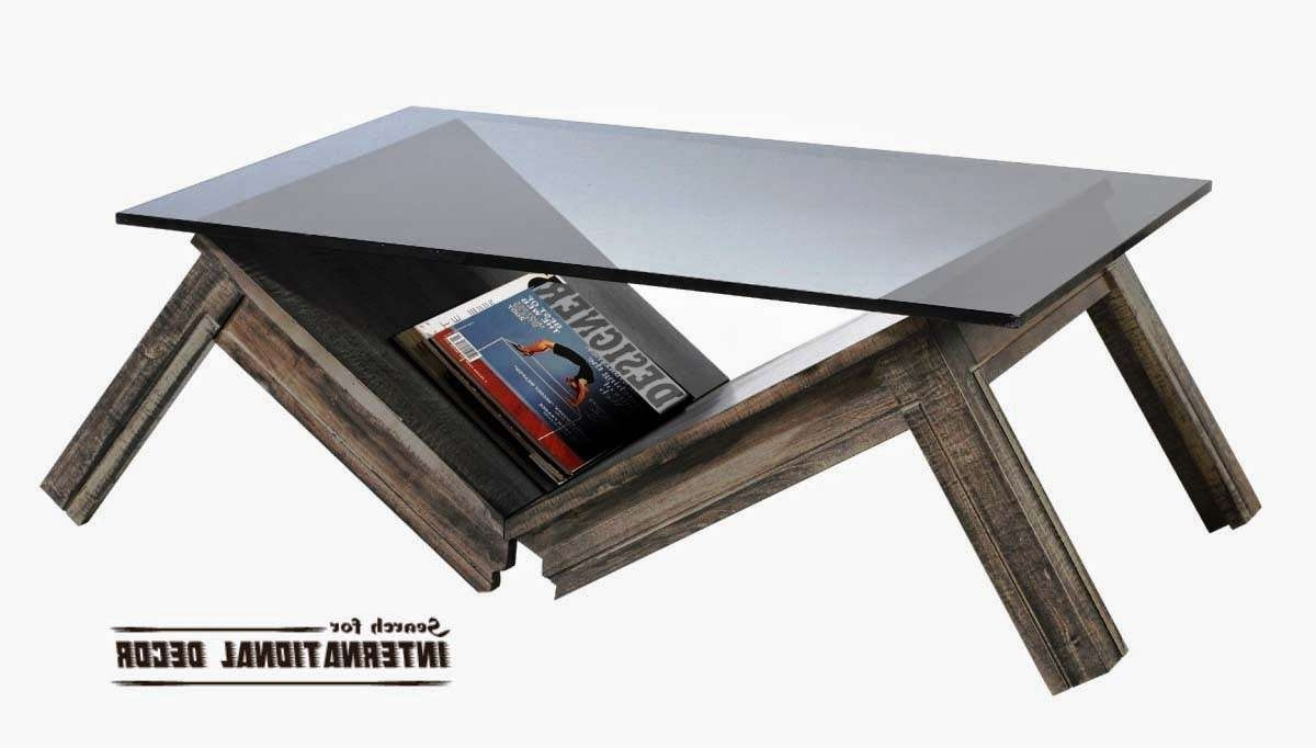 Newest Unusual Glass Coffee Tables Regarding Furniture: Oversized Coffee Table (View 17 of 20)