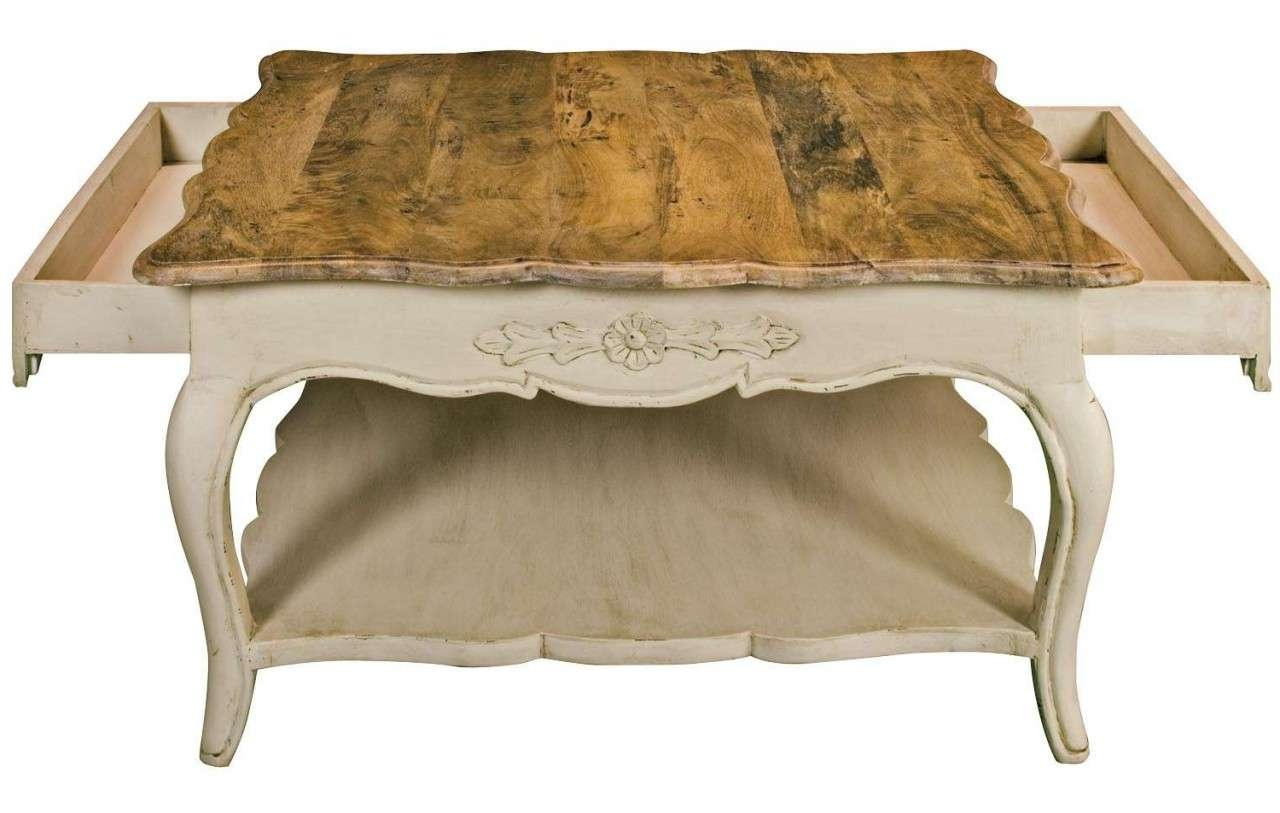 Newest White French Coffee Tables Throughout Coffee Tables Ideas: Fantastic Country French Coffee Tables (Gallery 14 of 20)