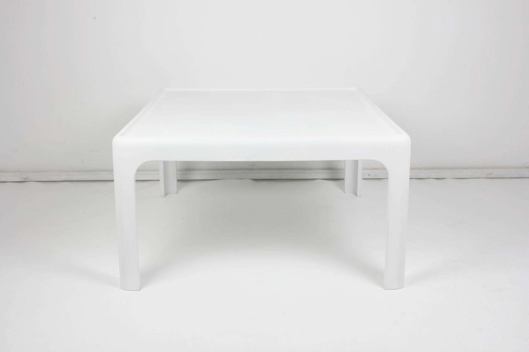 Newest White Retro Coffee Tables In Vintage Coffee Tablepeter Ghyczy For Horn Collection, 1969 For (View 11 of 20)
