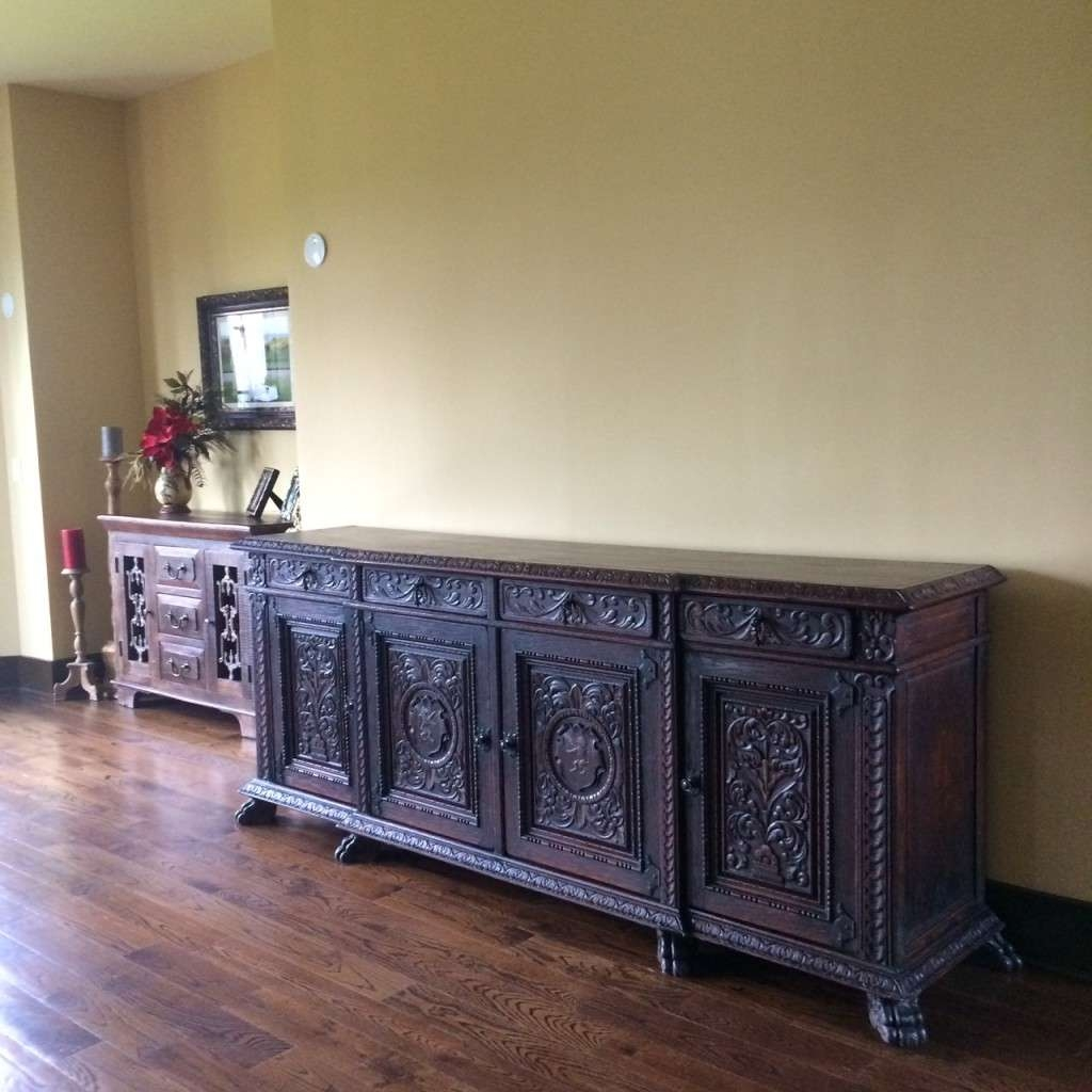 Nice Antique Sideboard Buffet : Rocket Uncle – Antique Sideboard Throughout Antique Buffet Sideboards (View 20 of 20)