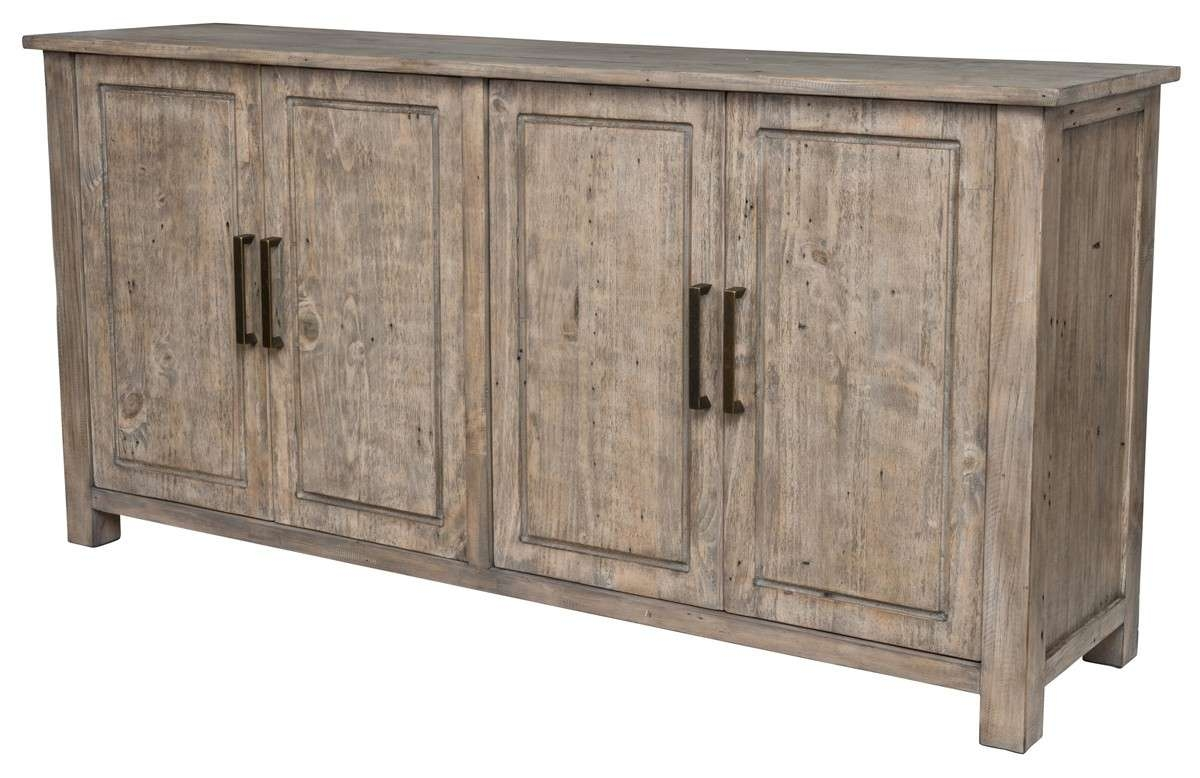 Novel 4 Door Reclaimed Wood Sideboard – Top Drawer Furniture For Reclaimed Wood Sideboards (View 7 of 20)