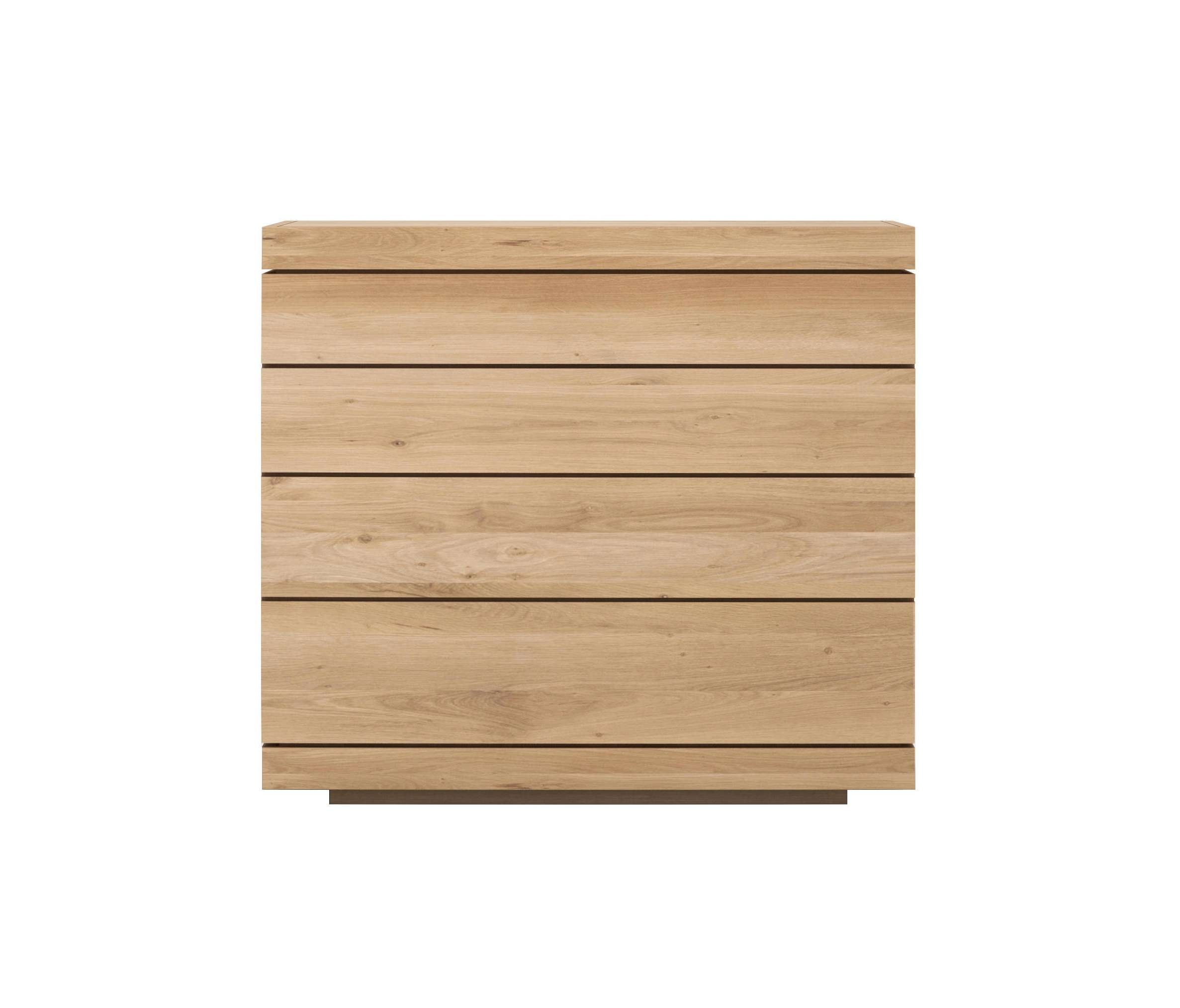 Oak Burger Chest Of Drawers – Sideboards From Ethnicraft | Architonic In Sideboards With Drawers (View 15 of 20)