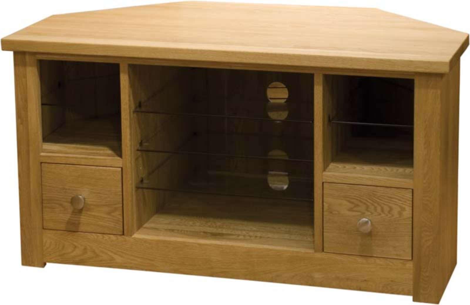 Oak Corner Tv Unit – Pine, Oak, Painted And Bespoke Furniture Regarding Painted Corner Tv Cabinets (View 12 of 20)