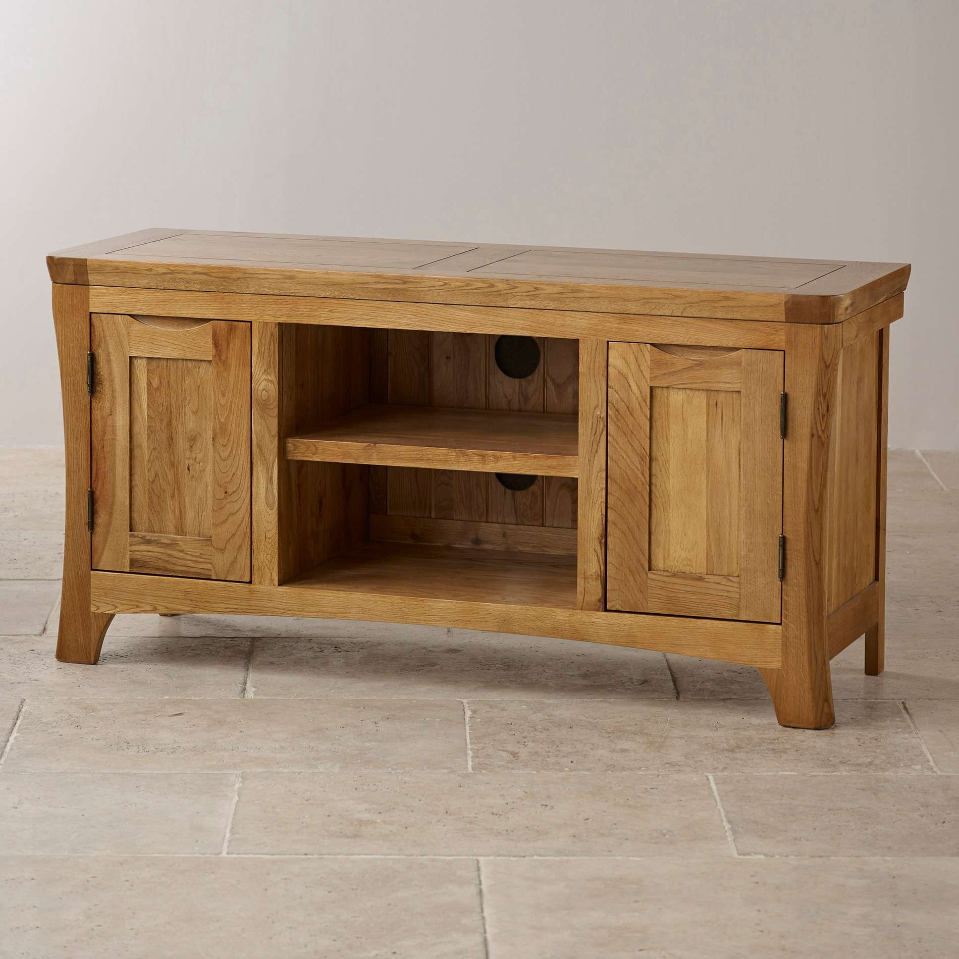 Oak Furniture Tv Cabinet. Stickley Style Tv Stand 44 Tv Console 50 In Rustic Wood Tv Cabinets (Gallery 18 of 20)