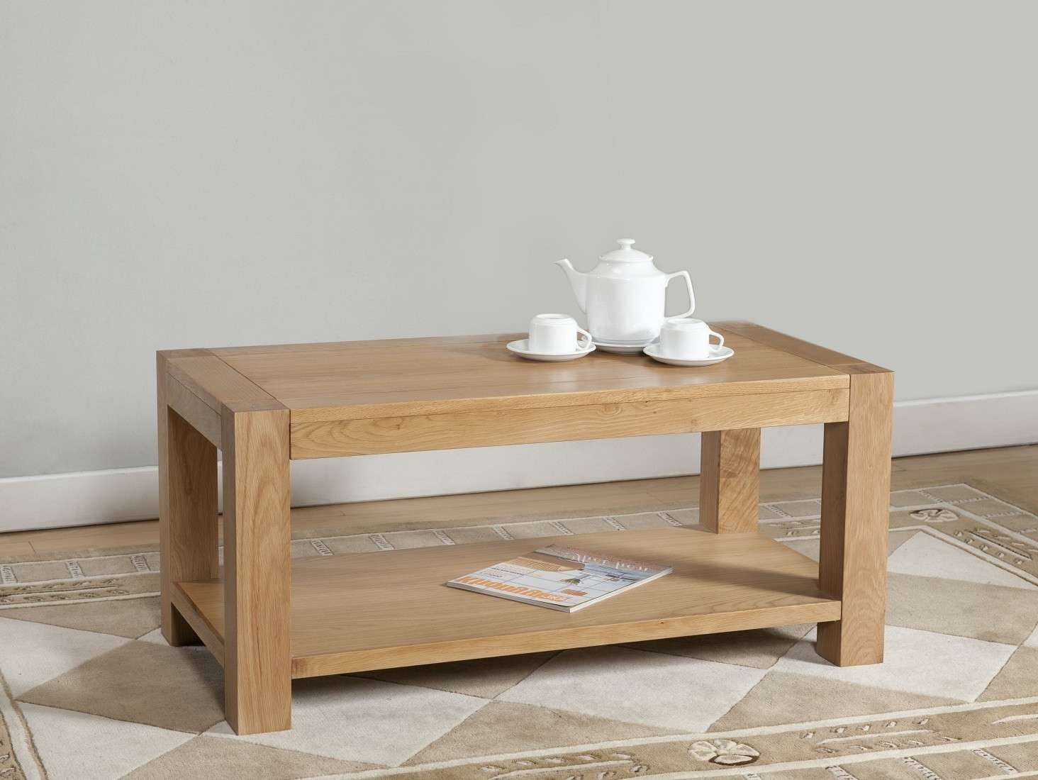 Oak Furniture Uk In Favorite Light Oak Coffee Tables (Gallery 7 of 20)