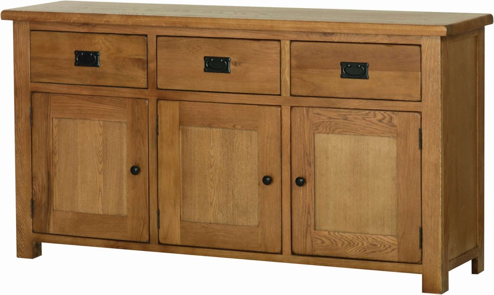 Oak Large Sideboard – Solid Wood & Painted Made To Measure Intended For Rustic Oak Large Sideboards (Gallery 16 of 20)
