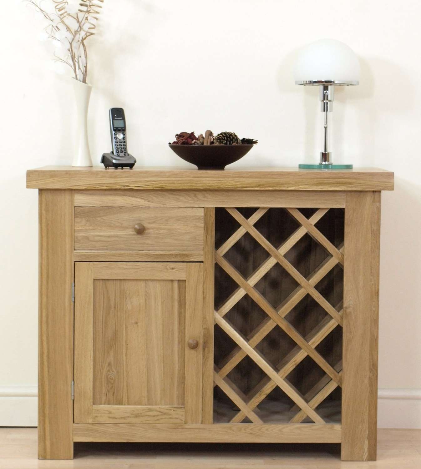Oak Sideboard With Wine Rack | Home Design Ideas Intended For Sideboards With Wine Rack (View 11 of 20)