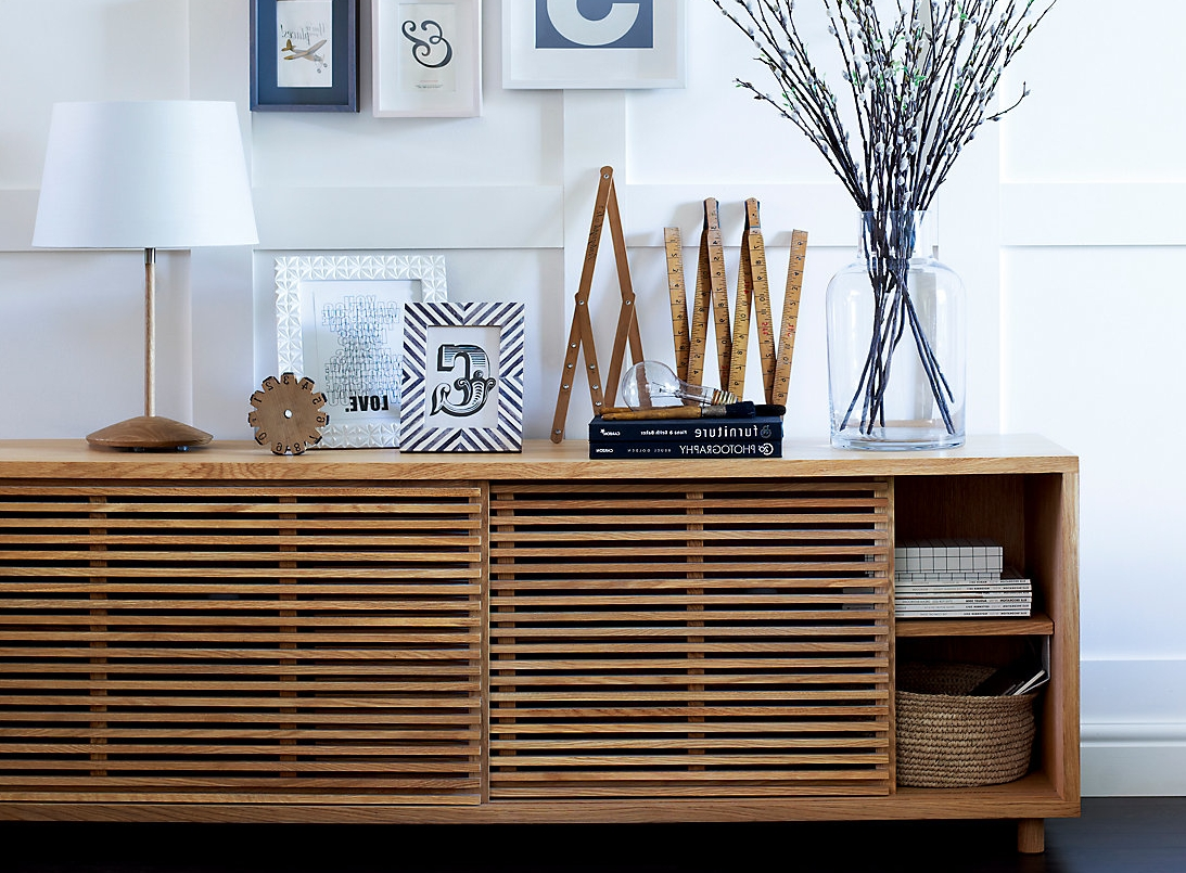 Oak Sideboards – 10 Of The Best | Ideal Home Within Marks And Spencer Sideboards (Gallery 1 of 20)