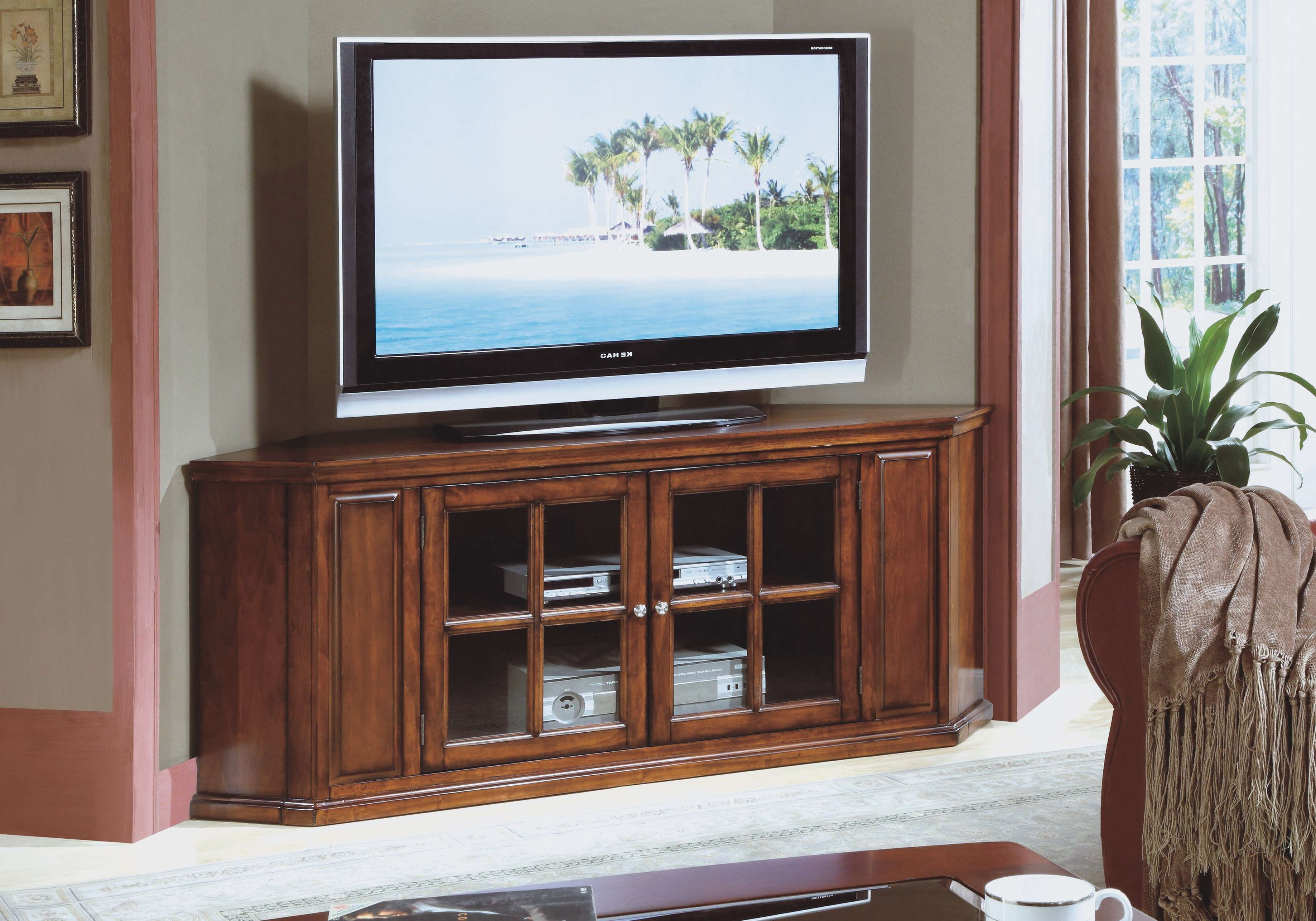 Oak Tv Cabinet With Doors Gallery – Doors Design Ideas Inside Oak Tv Cabinets For Flat Screens With Doors (View 8 of 20)