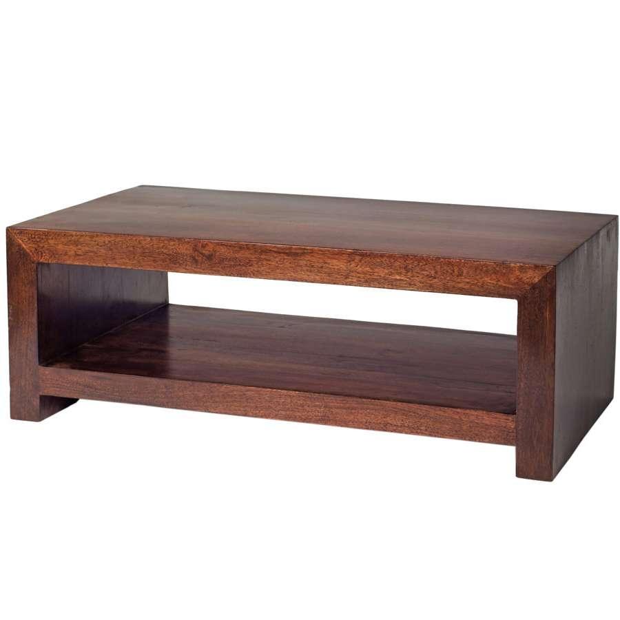 Oak World Inside Latest Dark Mango Coffee Tables (Gallery 5 of 20)