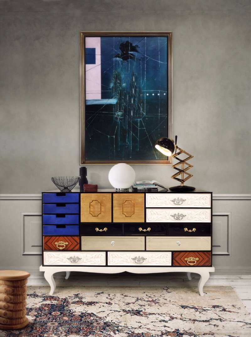 Old Is New: Contemporary Sideboards Inspiredthe 50S And The 60S Intended For 50S Sideboards (Gallery 7 of 20)