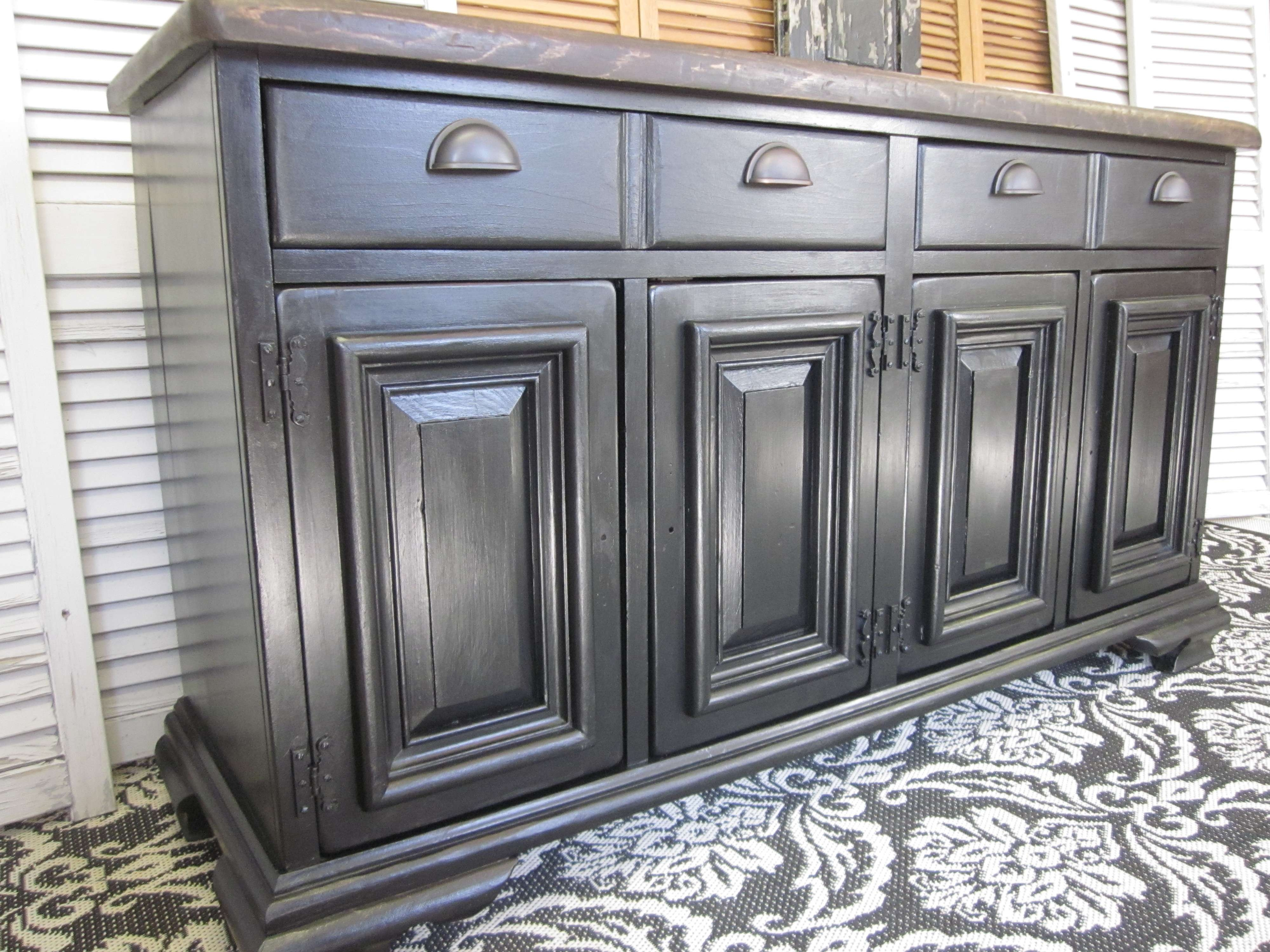Old World Pottery Barn & Arhaus – Inspired Sideboard | Entri Ways With Pottery Barn Sideboards (Gallery 2 of 20)
