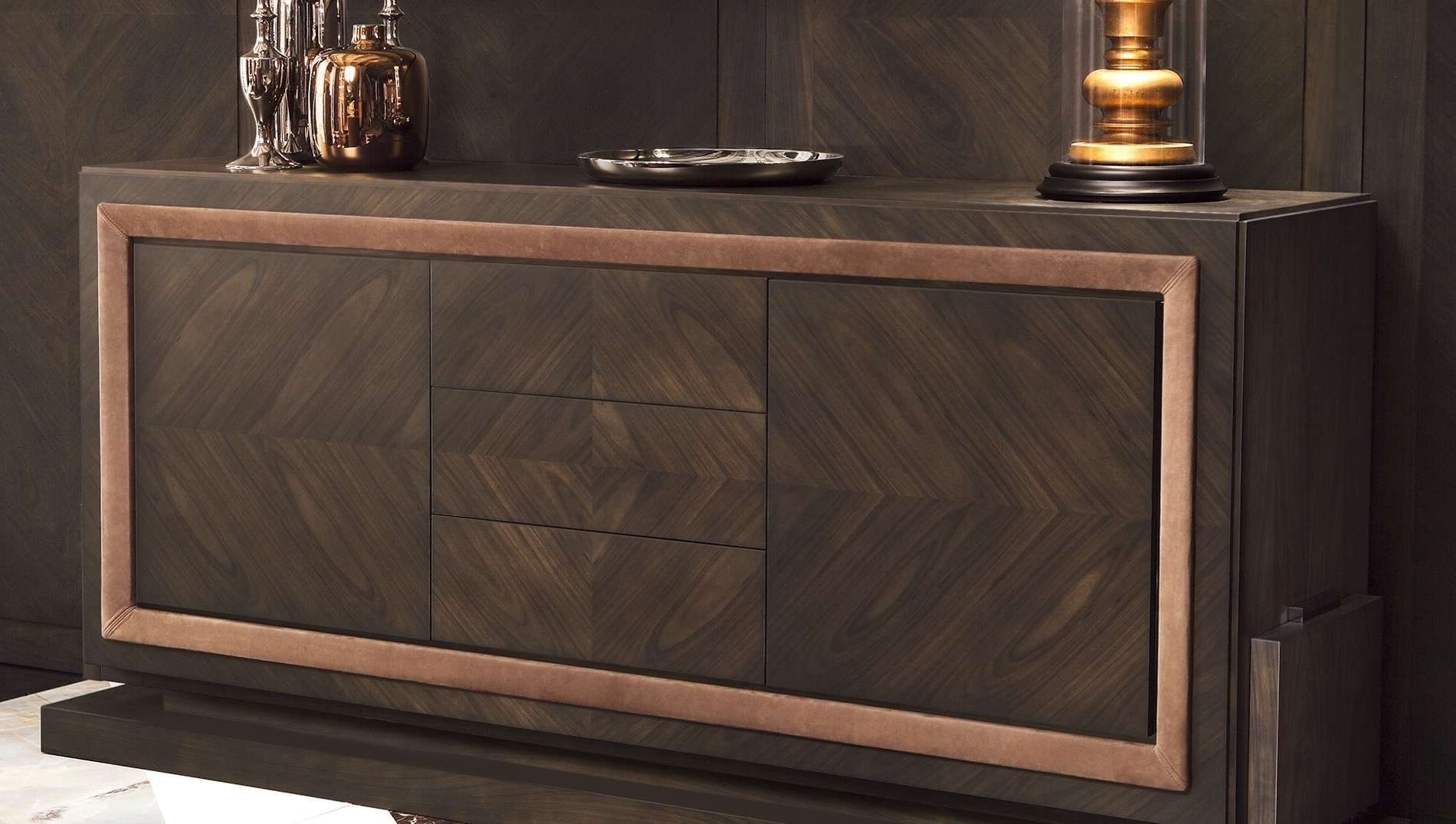 Olimpia Sideboard – Luxdeco Intended For Wenge Sideboards (View 9 of 20)