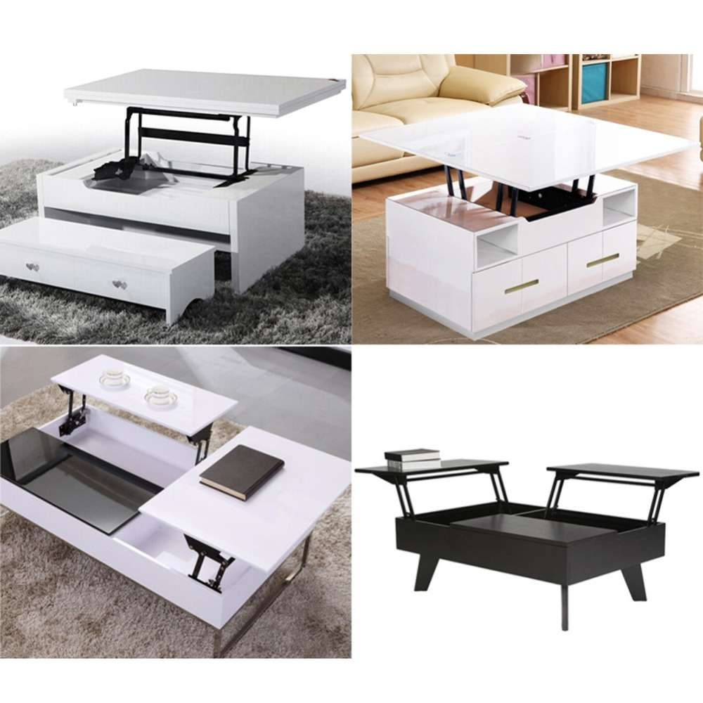 Online Shop 1Pair Lift Up Top Coffee Table Lifting Frame Mechanism In Widely Used Lift Up Top Coffee Tables (Gallery 6 of 20)