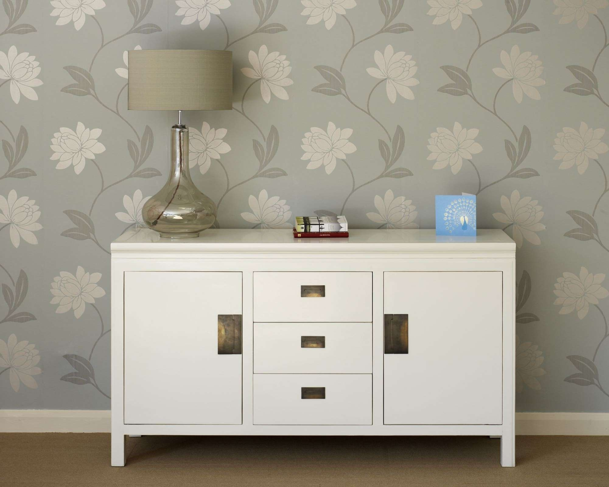 Oriental White Lacquer Sideboards – Shanxi With Regard To Large White Sideboards (Gallery 2 of 20)