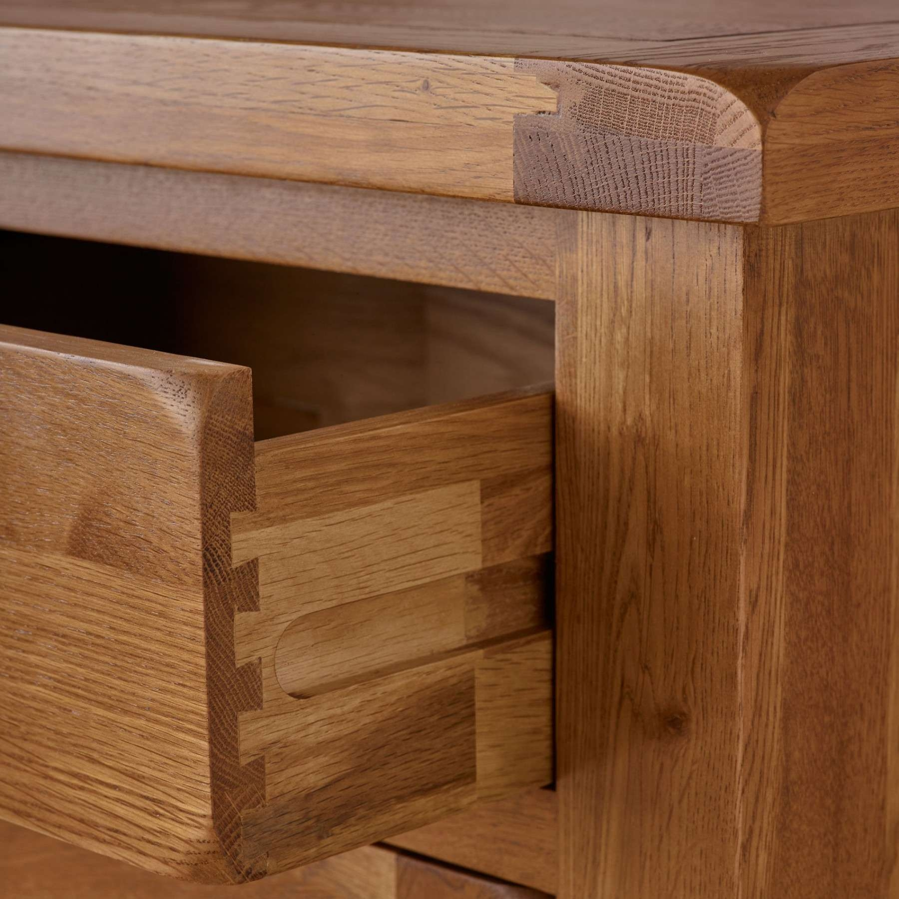 Original Rustic Solid Oak Large Sideboard | Sideboards | Dining Regarding Rustic Oak Large Sideboards (View 19 of 20)