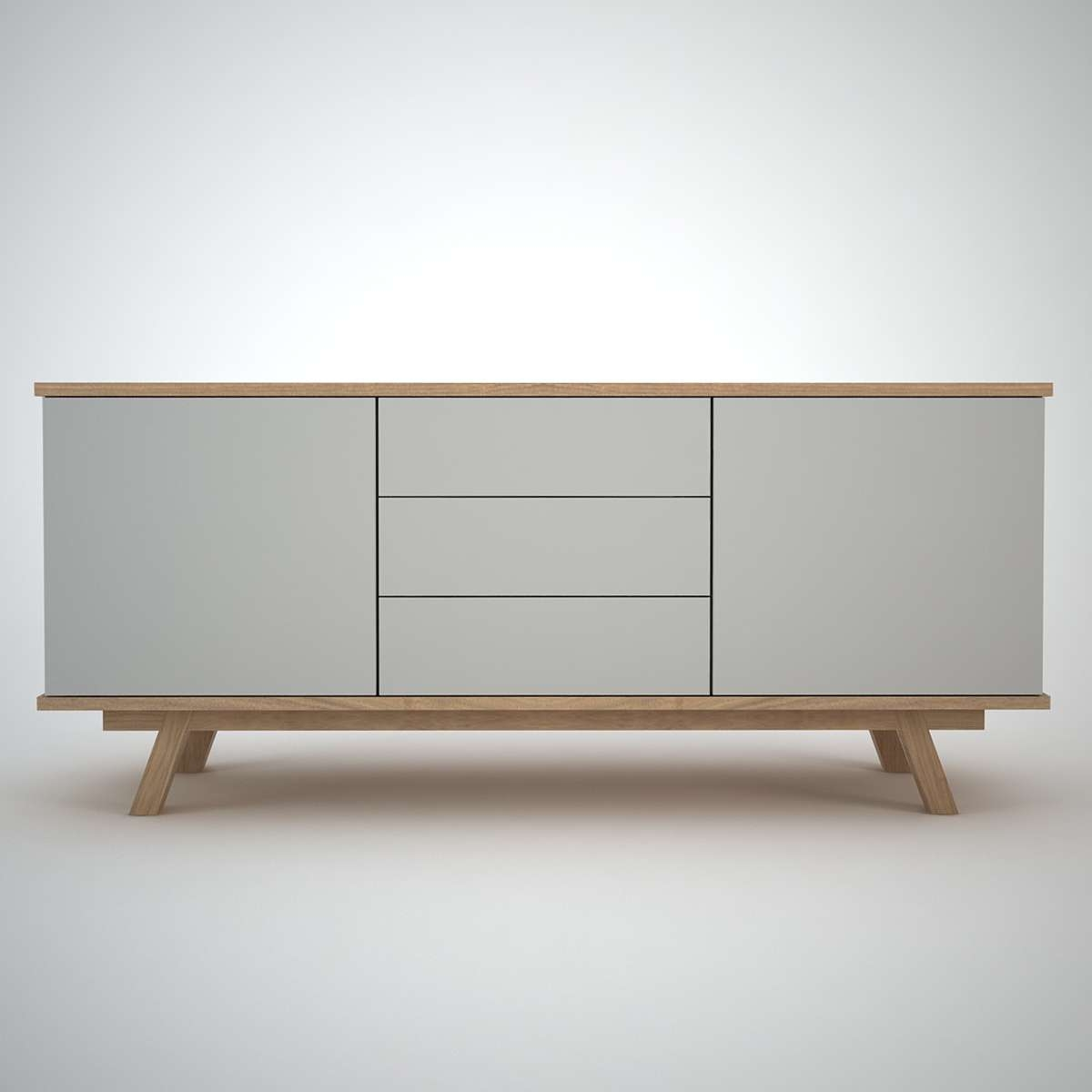 Ottawa Sideboard (2+3) Clay – Join Furniture For Contemporary Sideboards (Gallery 5 of 20)