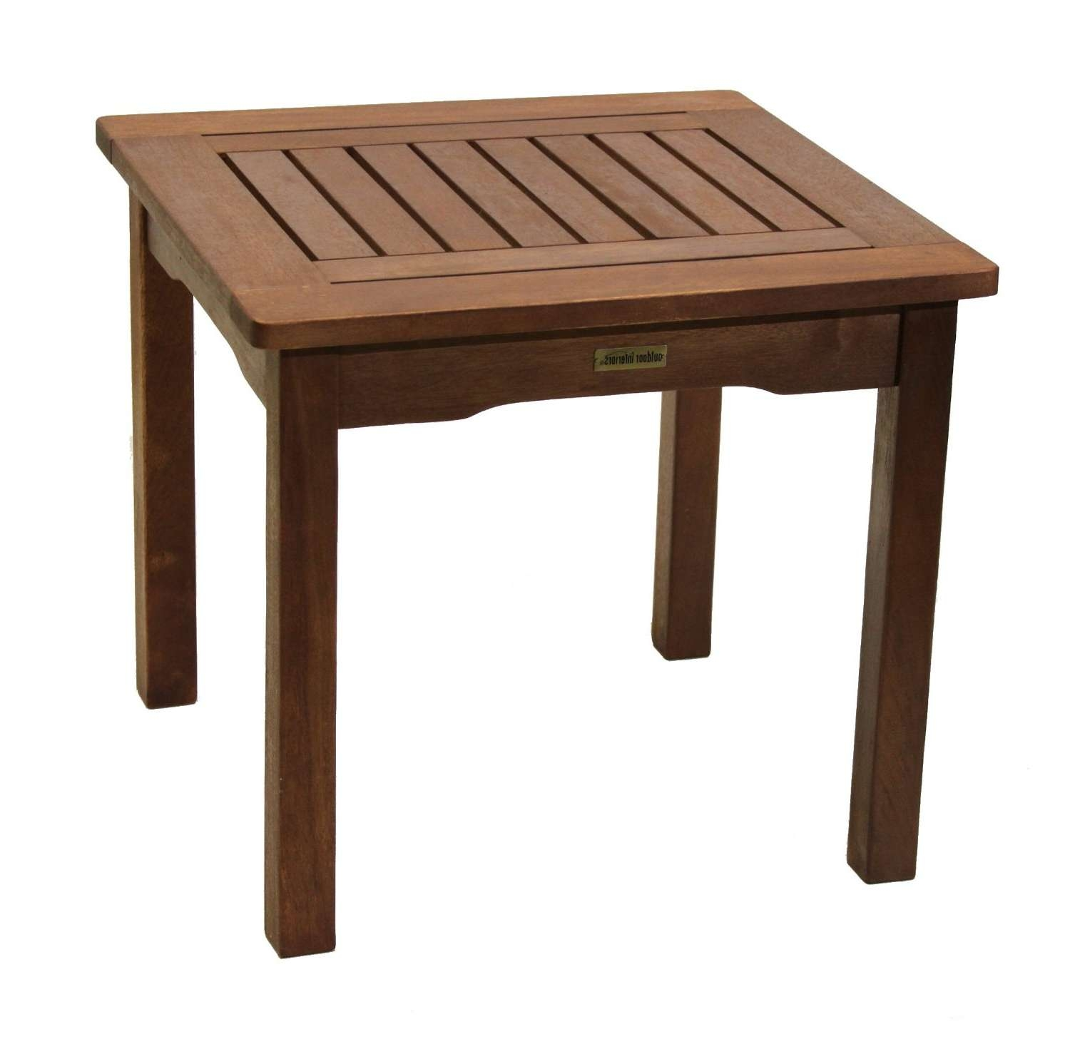 Outdoor In Well Liked Wooden Garden Coffee Tables (View 3 of 20)