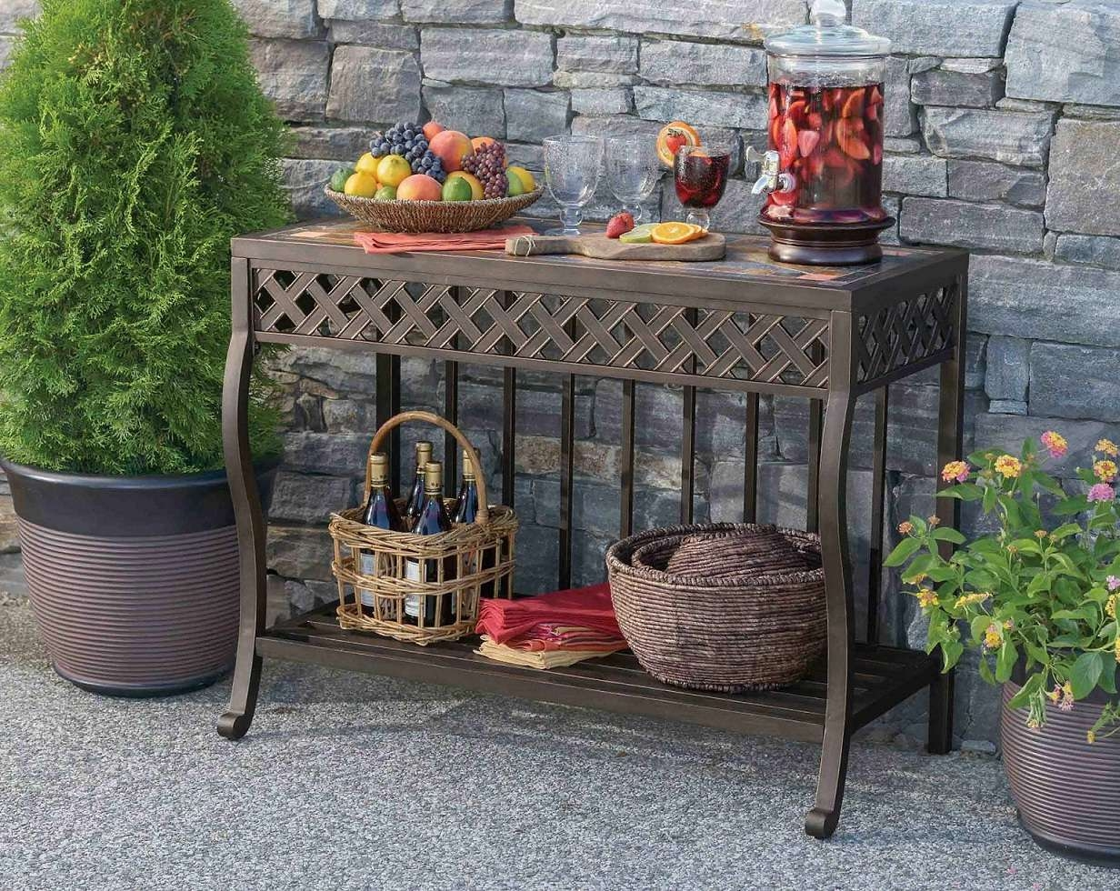 Outdoor Sideboard Console Table – Coalacre For Outdoor Sideboards With Console Table (Gallery 13 of 20)