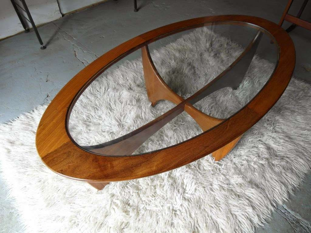 Oval Glass Wood Coffee Table Design — The Home Redesign : Very Pertaining To Well Known Oval Glass And Wood Coffee Tables (Gallery 11 of 20)