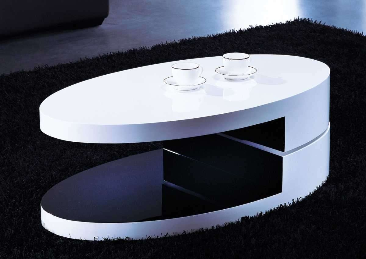 Oval Gloss Coffee Table – Oval Gloss Coffee Table White Dwell With Regard To Well Known Oval Gloss Coffee Tables (Gallery 7 of 20)