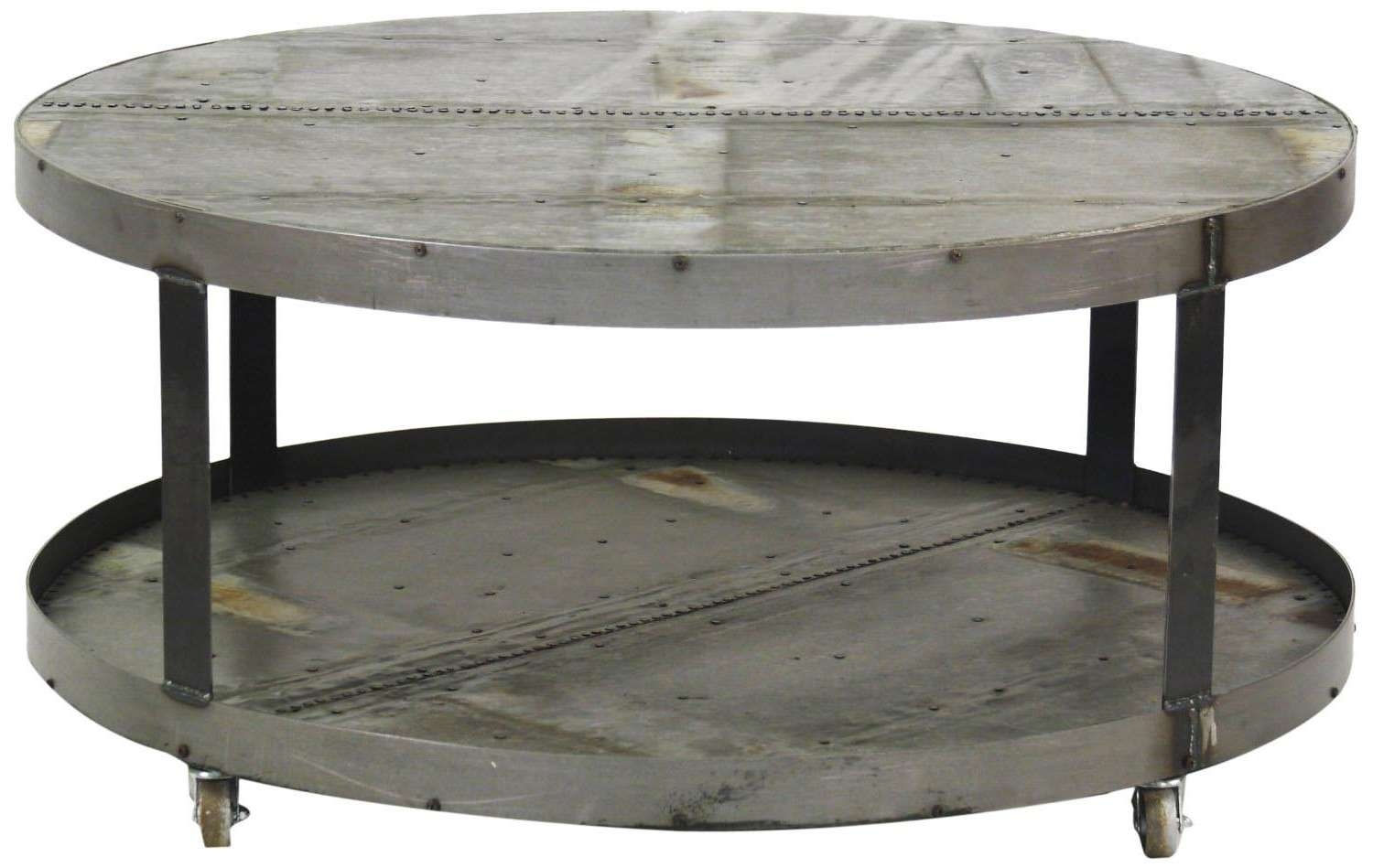 Oversized Round Coffee Table (Gallery 1 of 20)