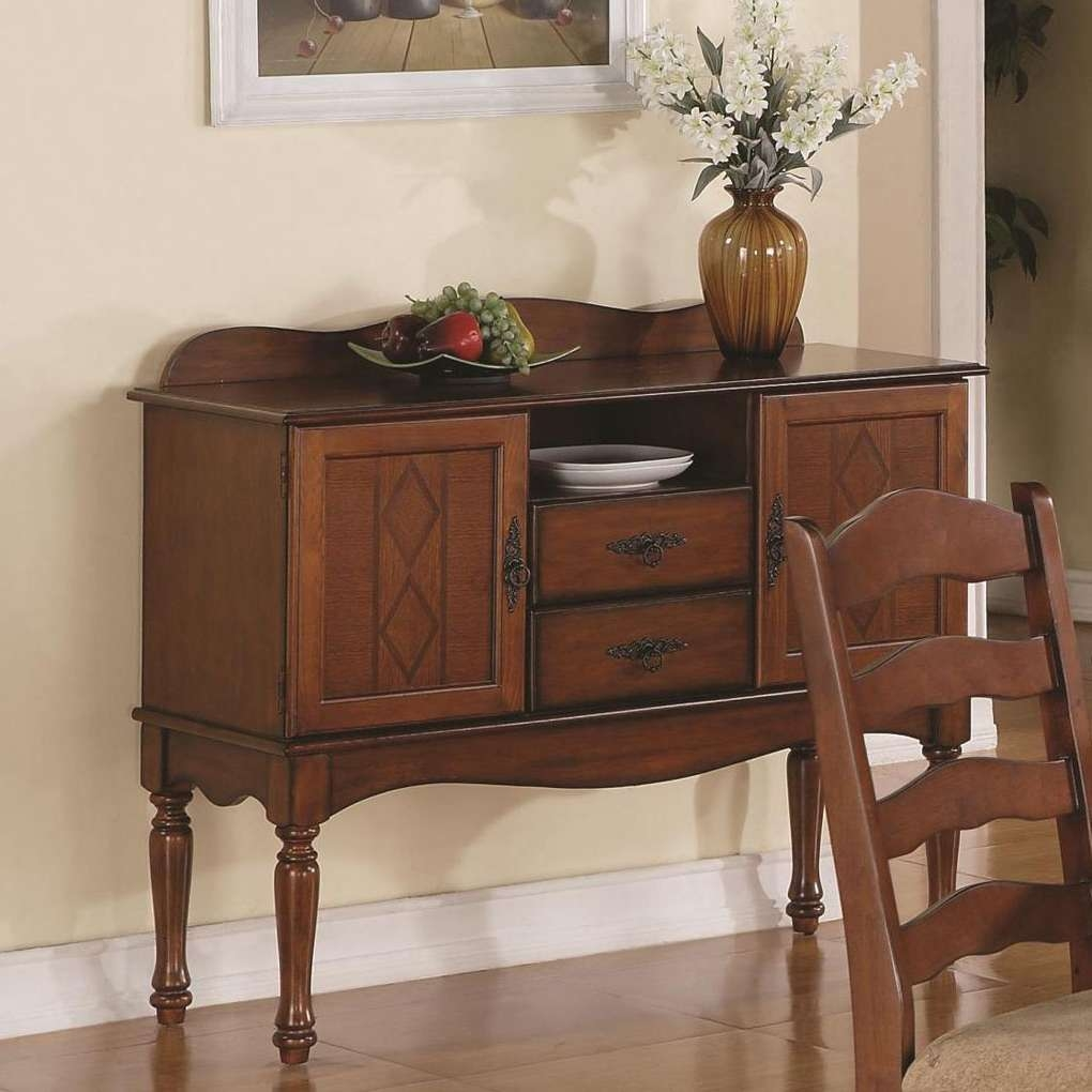 Oxford Door Buffet Server With Drawers | Sideboards And Servers For Server Sideboards Furniture (View 13 of 20)