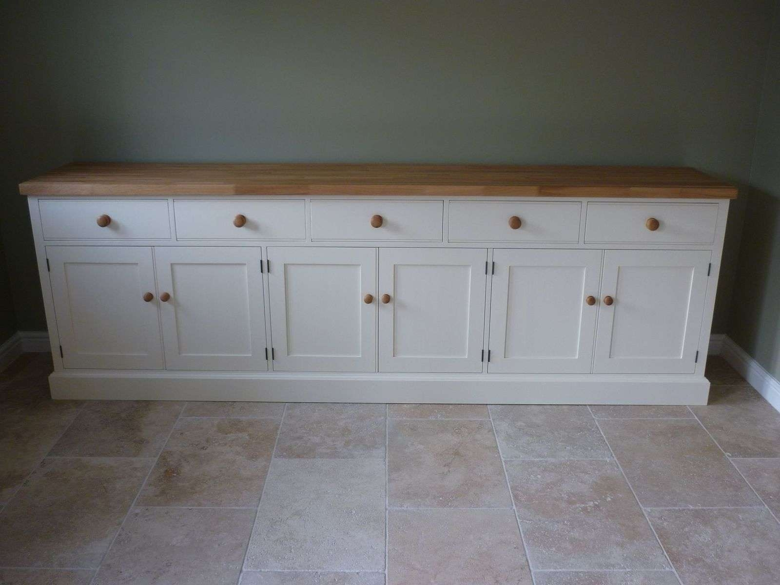 Painted Cotswold Sideboard – Solid Wood & Painted Made To Measure Intended For Painted Sideboards (View 11 of 20)