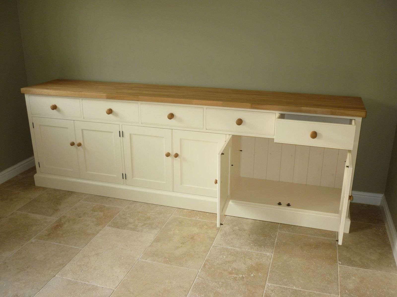 Painted Cotswold Sideboard – Solid Wood & Painted Made To Measure Within Bespoke Sideboards (View 13 of 20)