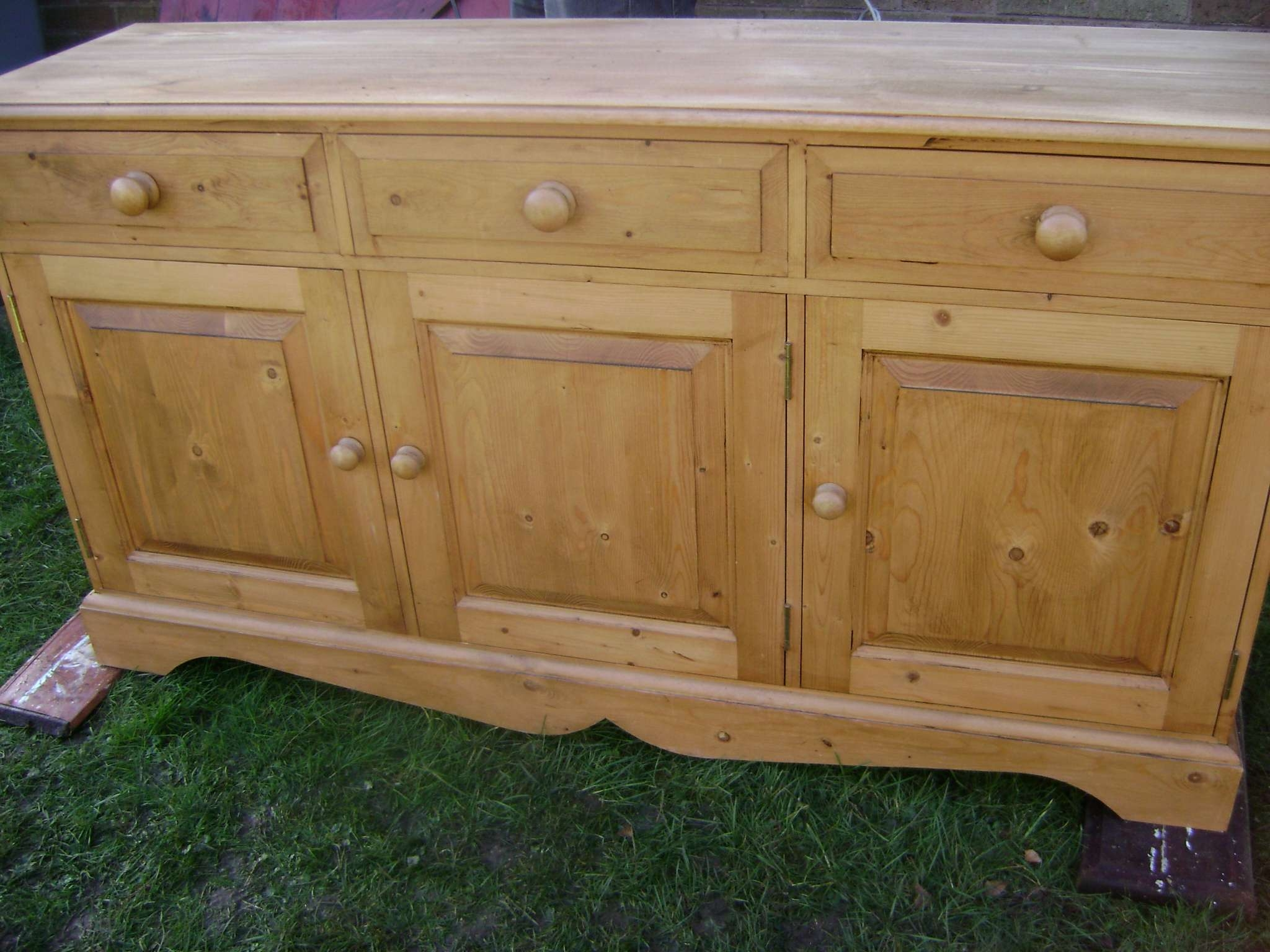 Painted Dresser | The Barrister's Horse Regarding Pine Sideboards (View 20 of 20)