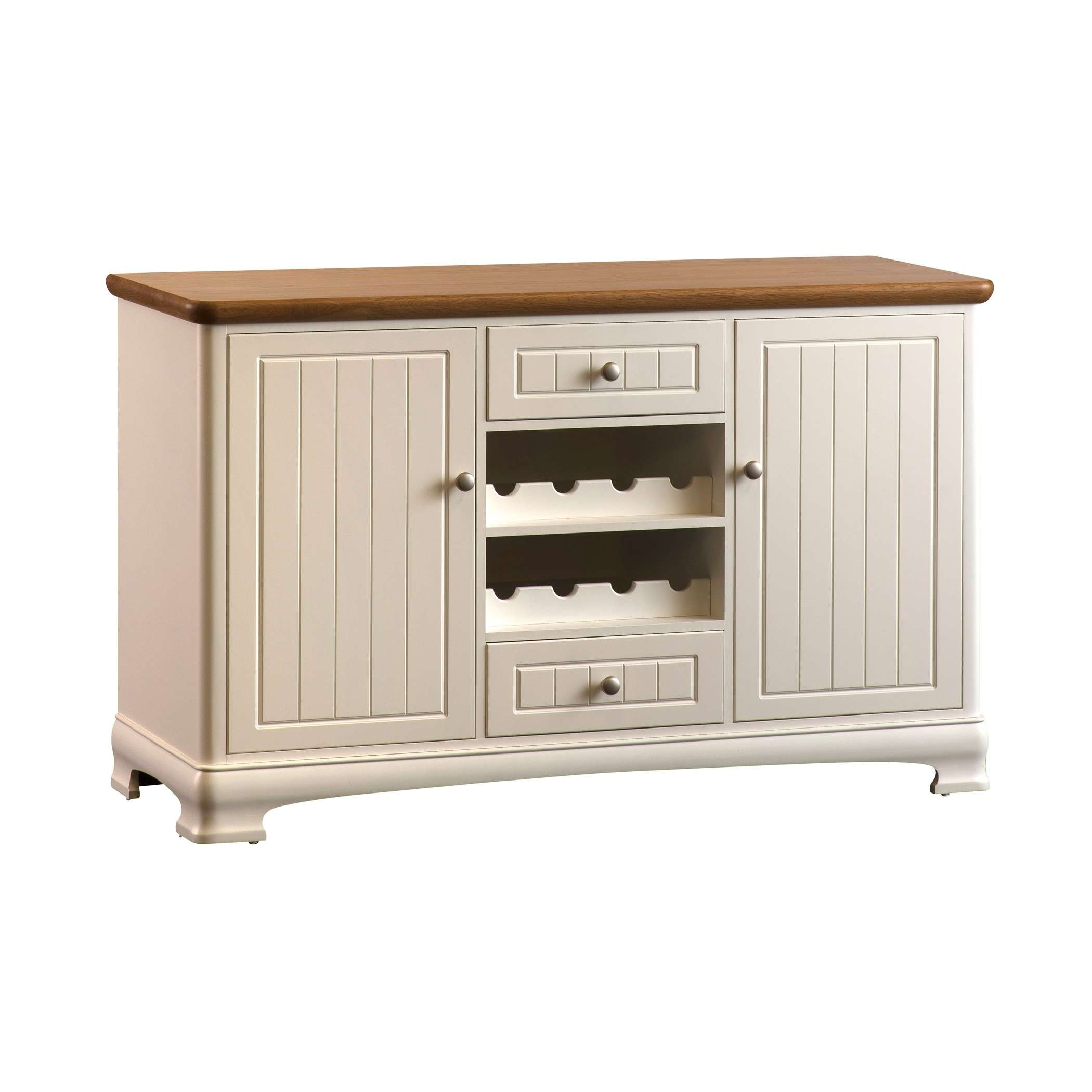 Painted Large Sideboard With Wine Rack | Gola Furniture Uk Inside Sideboards With Wine Rack (View 4 of 20)