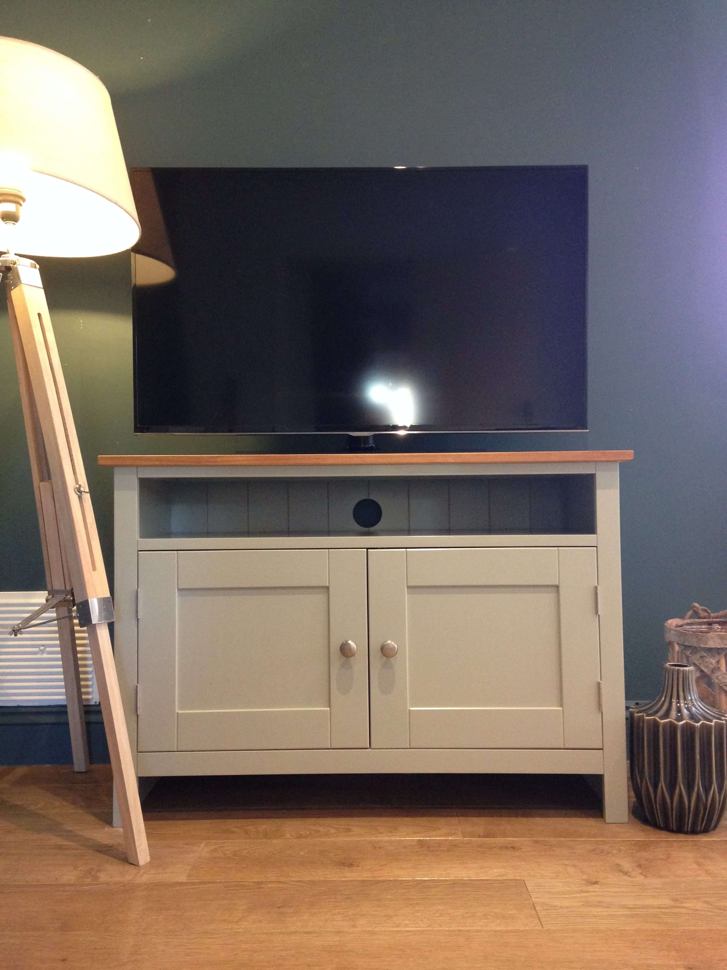 Painted Tv Cabinet | Tv Media Units | Solid Pine Tv Cabinet With Solid Pine Tv Cabinets (View 13 of 20)